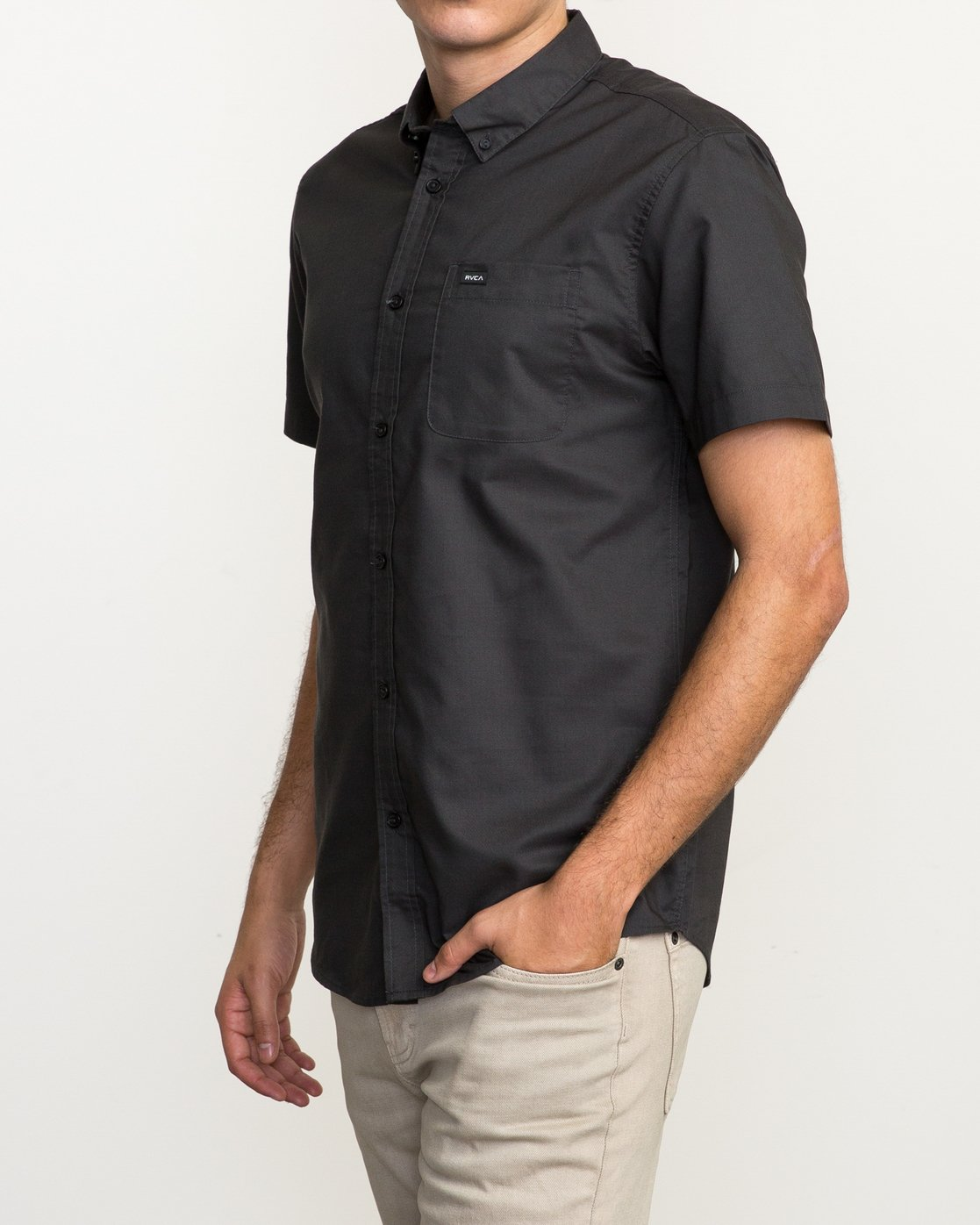 2 That'll Do Oxford Shirt Black M3514TDS RVCA