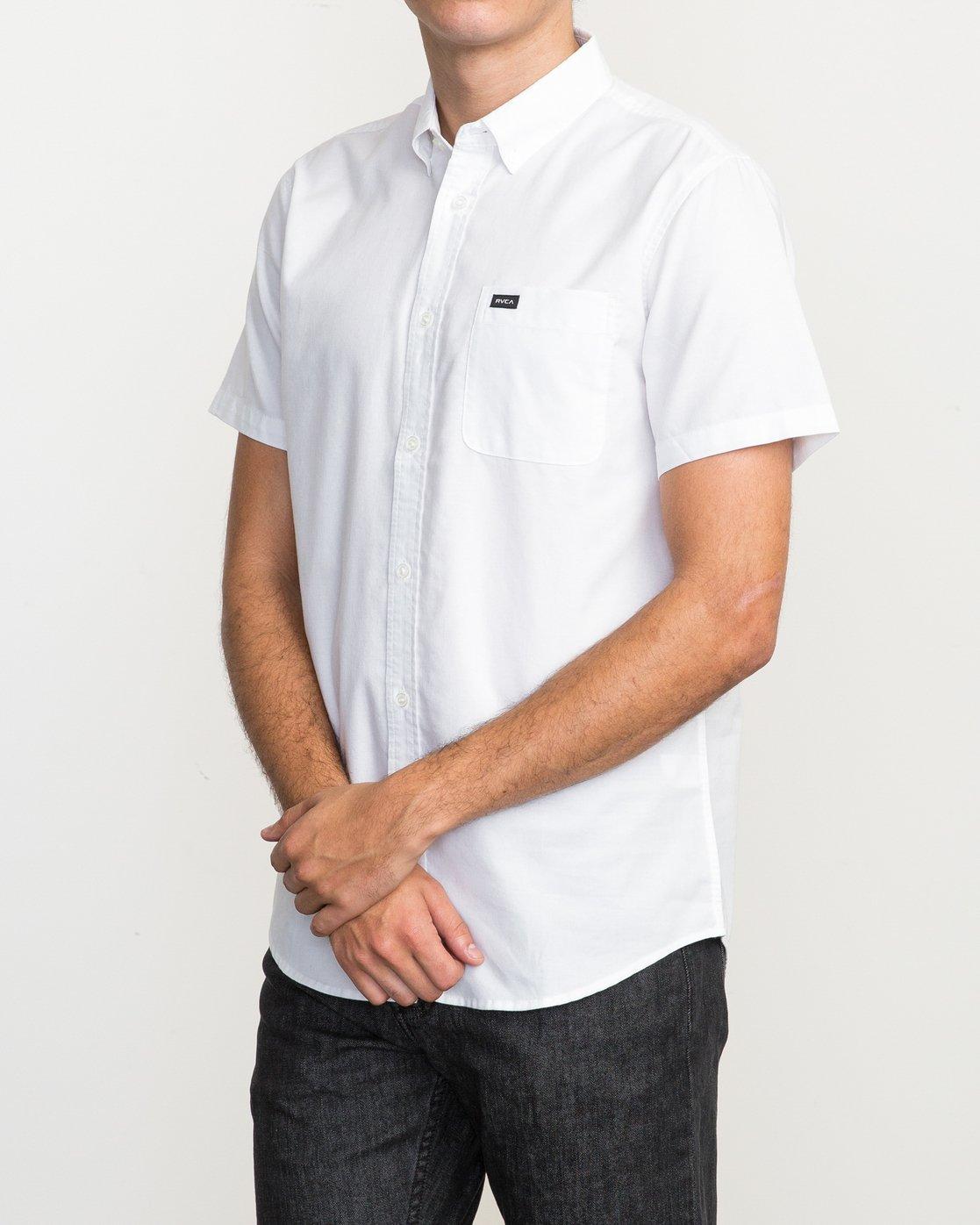2 That'll Do Oxford Shirt White M3514TDS RVCA