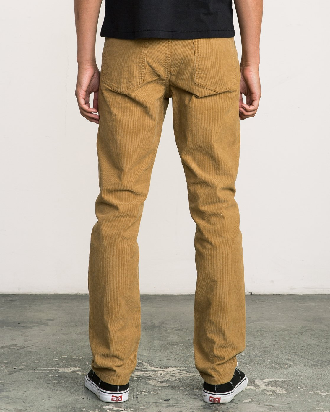 3 Daggers Pigment Corduroy Jeans Brown M352QRDC RVCA