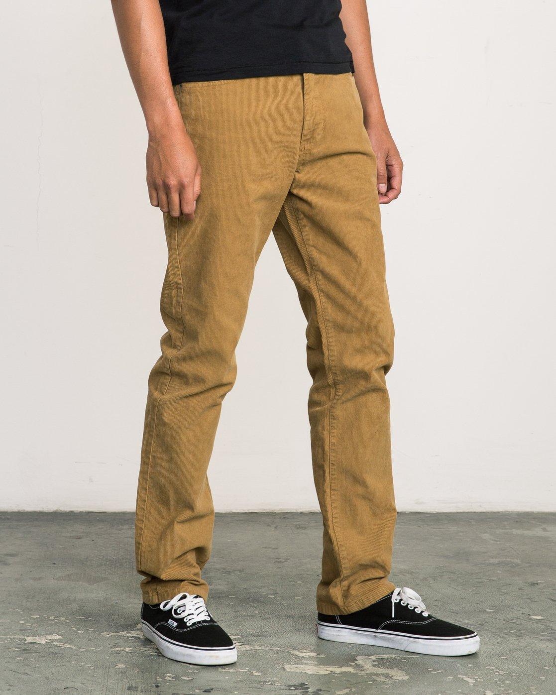 5 Daggers Pigment Corduroy Jeans Brown M352QRDC RVCA