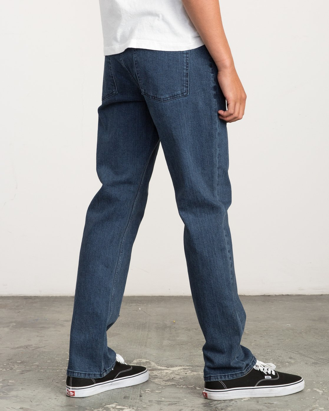 3 Stay RVCA Straight Fit Denim Jeans  M354QRSR RVCA