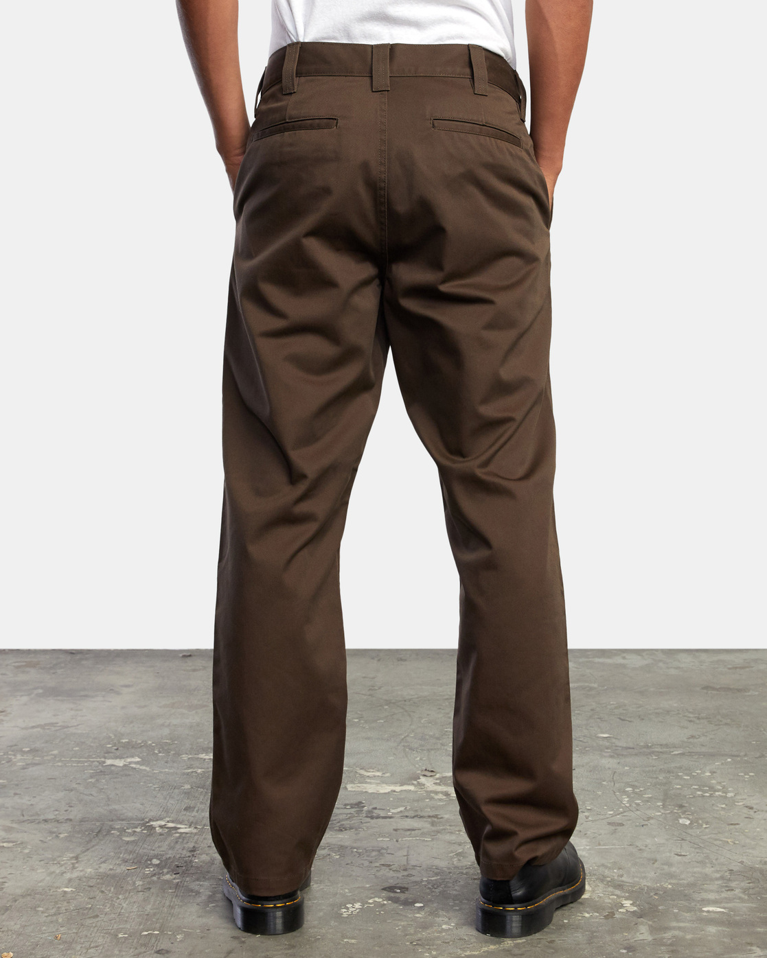 9 AMERICANA RELAXED FIT CHINO PANT Brown M3583RAC RVCA