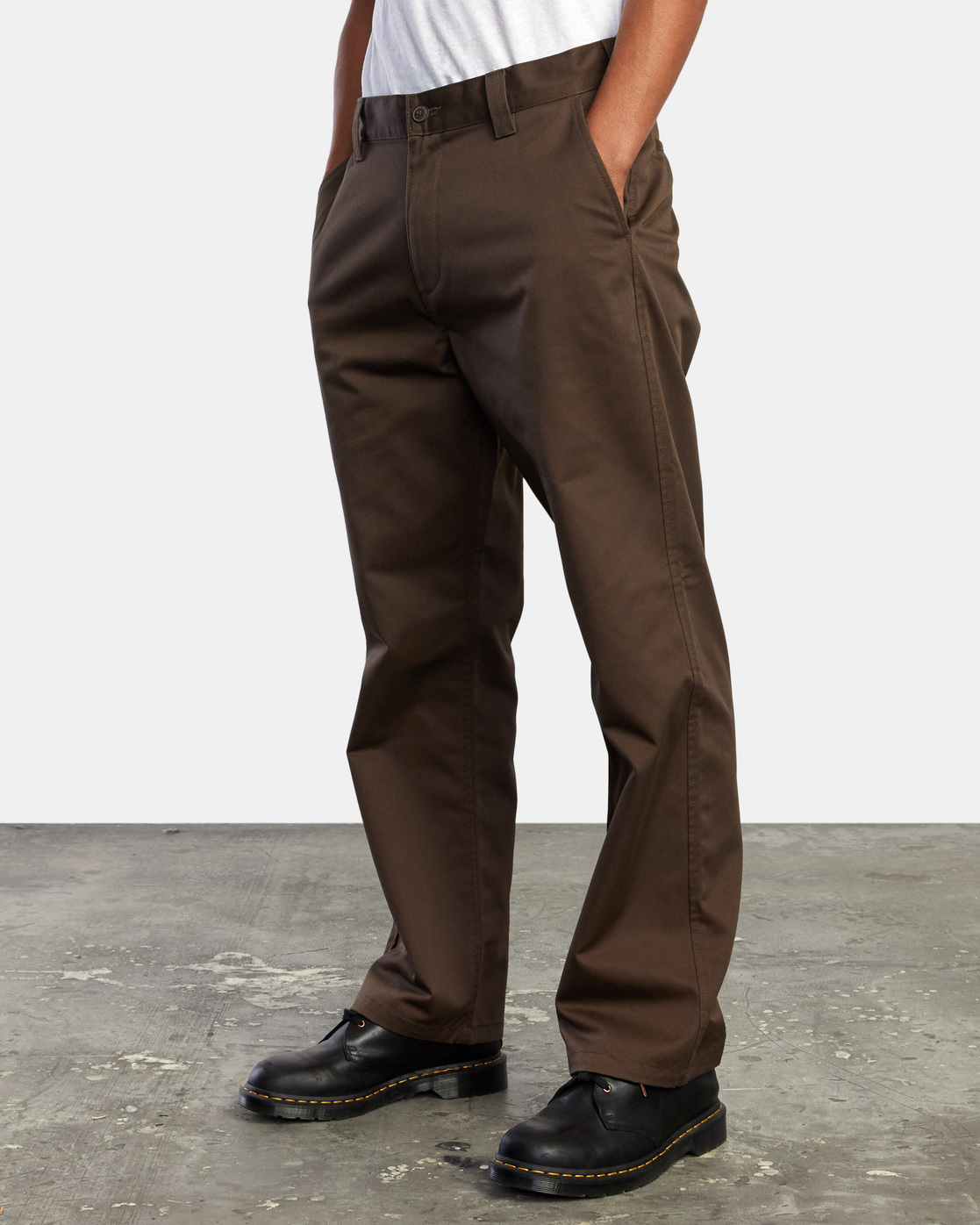 11 AMERICANA RELAXED FIT CHINO PANT Brown M3583RAC RVCA