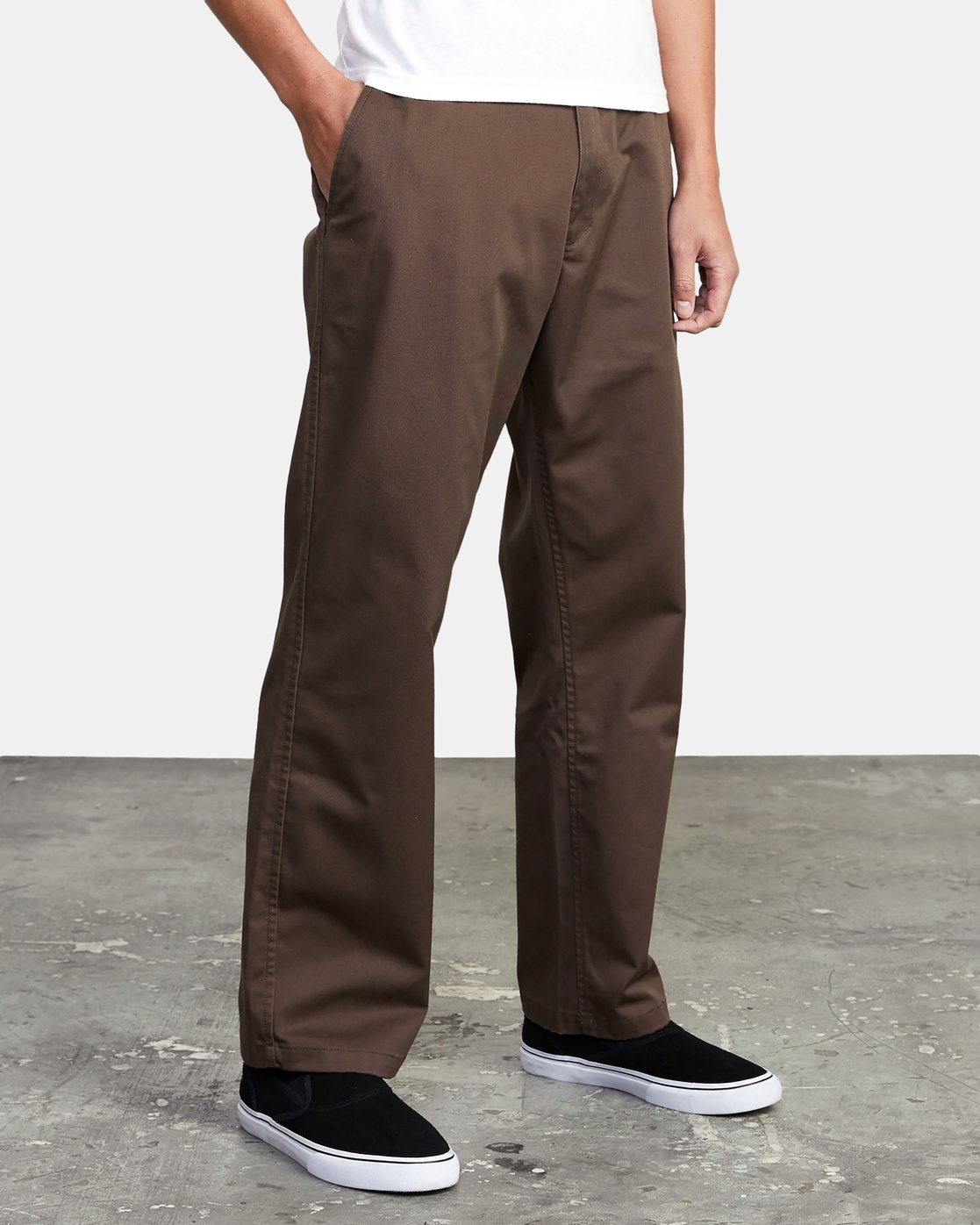 14 AMERICANA RELAXED FIT CHINO PANT Brown M3583RAC RVCA
