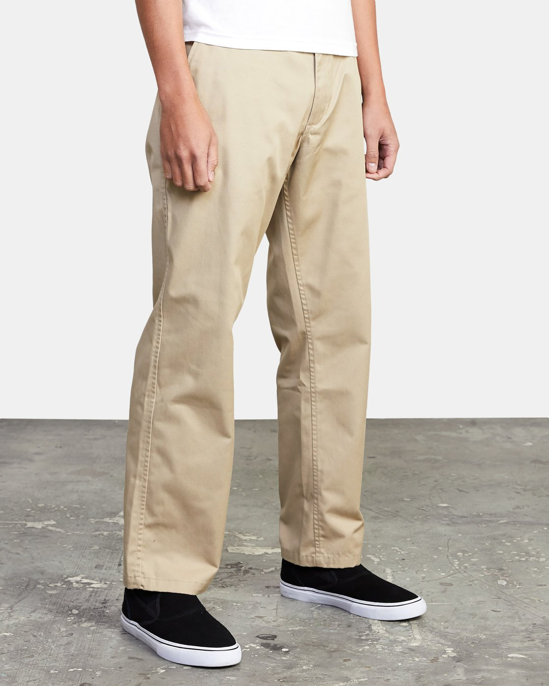 13 AMERICANA RELAXED FIT CHINO PANT Beige M3583RAC RVCA