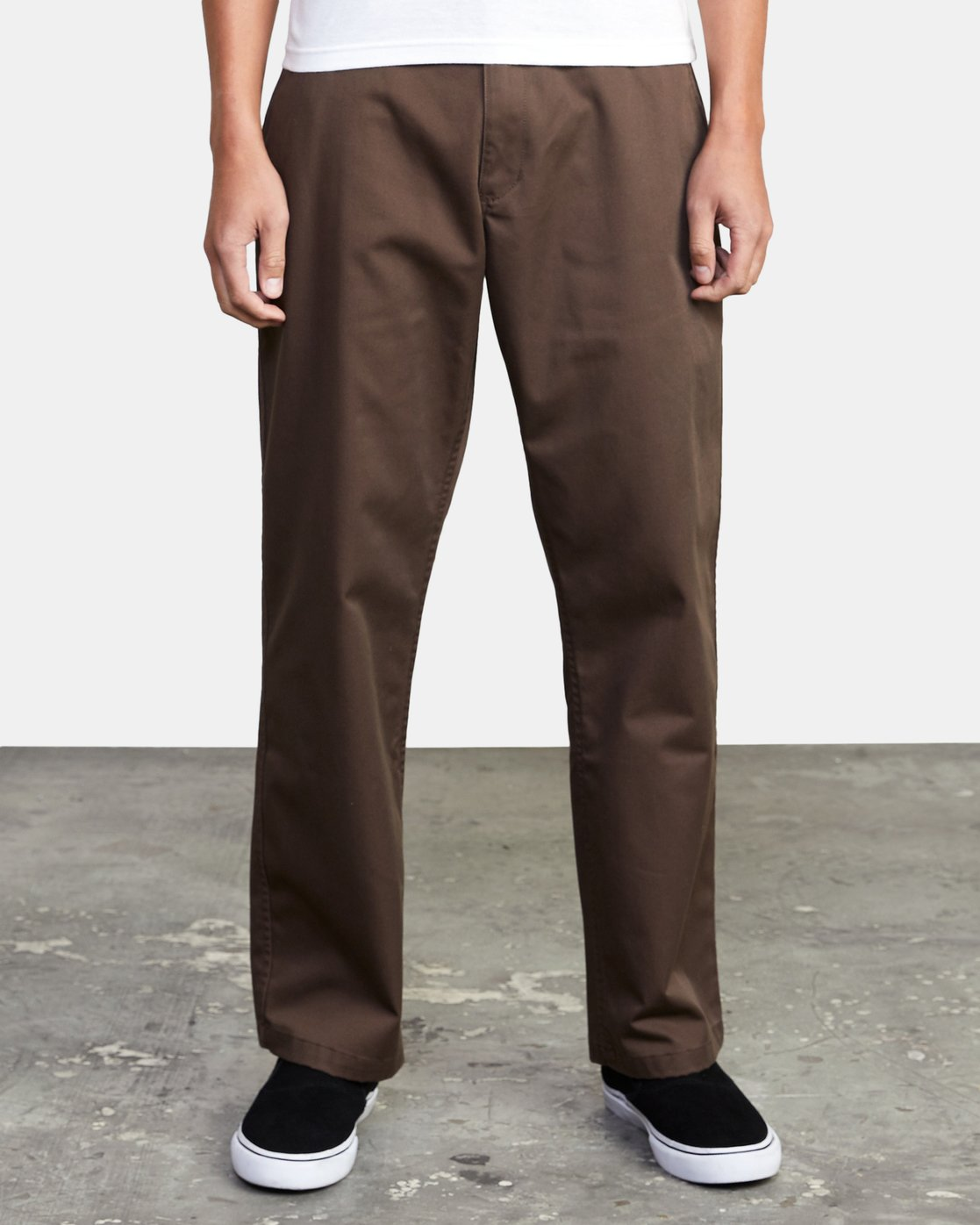 2 AMERICANA RELAXED FIT CHINO PANT Brown M3583RAC RVCA