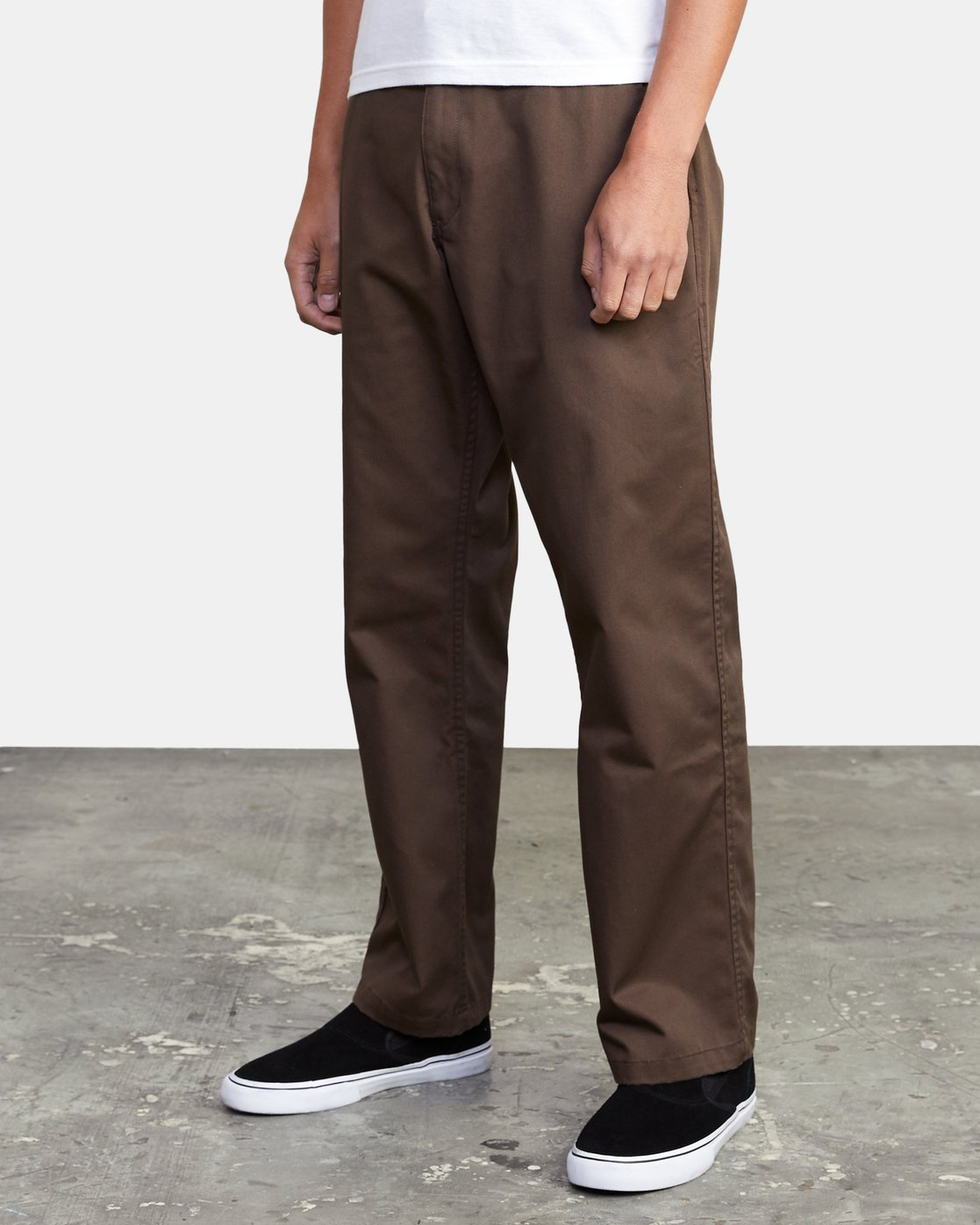 3 AMERICANA RELAXED FIT CHINO PANT Brown M3583RAC RVCA