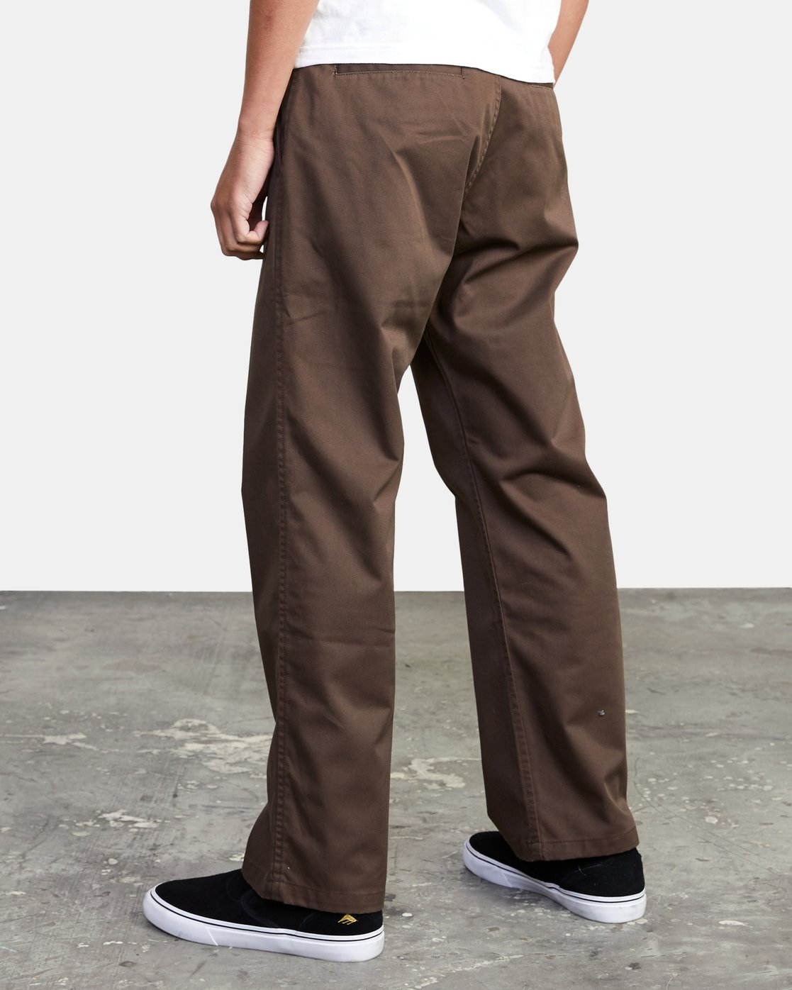 4 AMERICANA RELAXED FIT CHINO PANT Brown M3583RAC RVCA