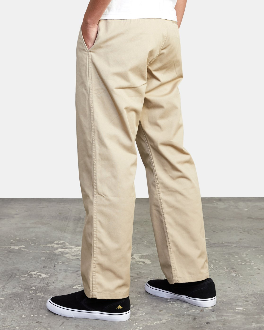 5 AMERICANA RELAXED FIT CHINO PANT Beige M3583RAC RVCA