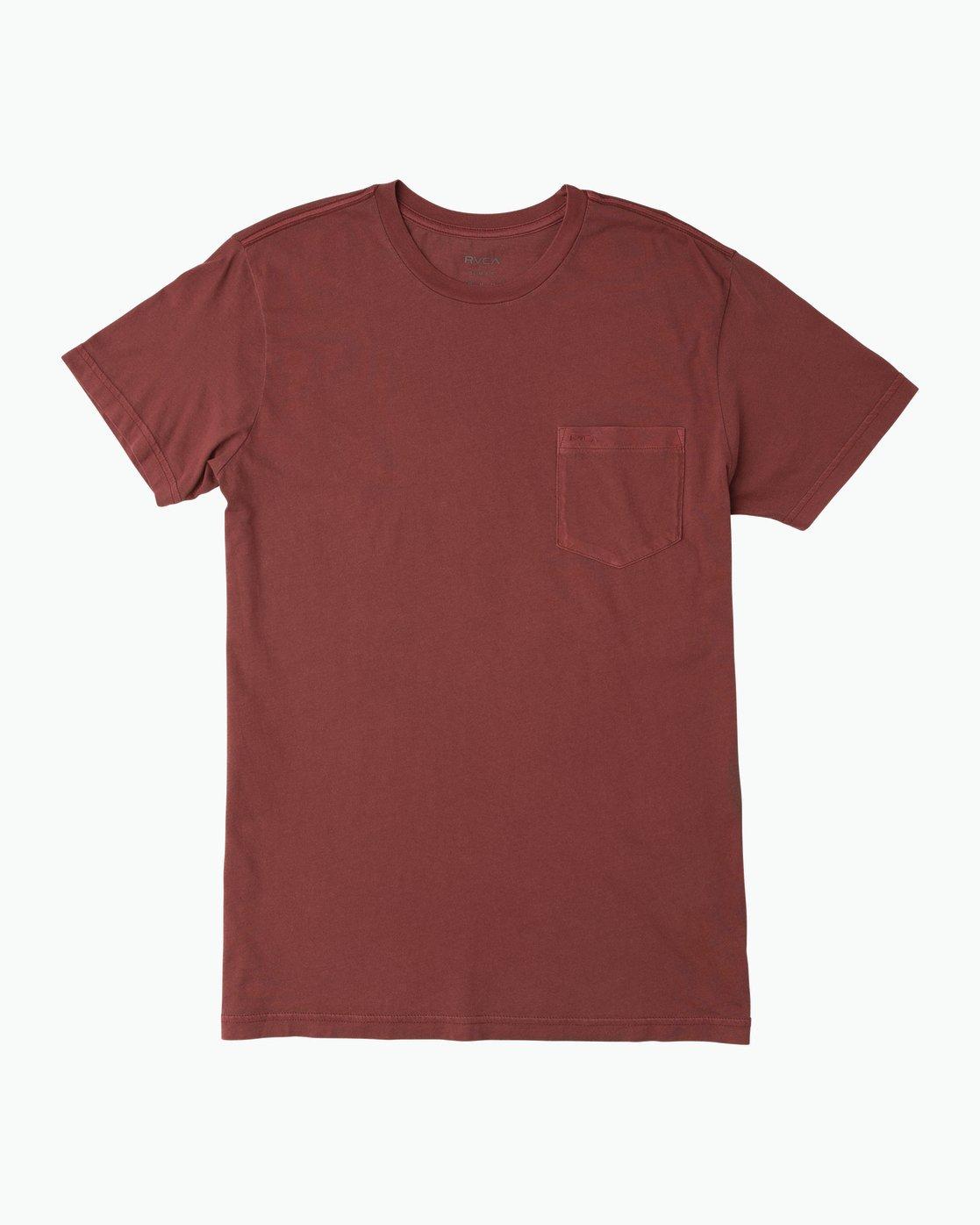 0 Ptc 2 Pigment T-Shirt Red M3910PTC RVCA