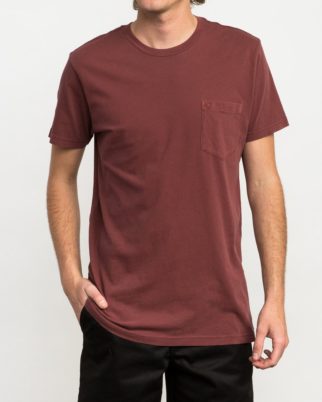 1 Ptc 2 Pigment T-Shirt Red M3910PTC RVCA