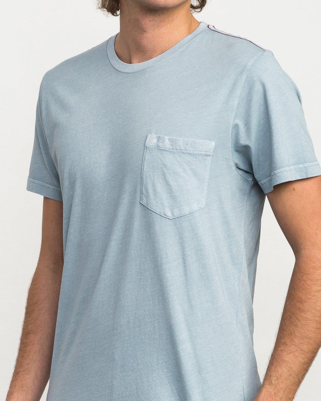 4 Ptc 2 Pigment T-Shirt Blue M3910PTC RVCA