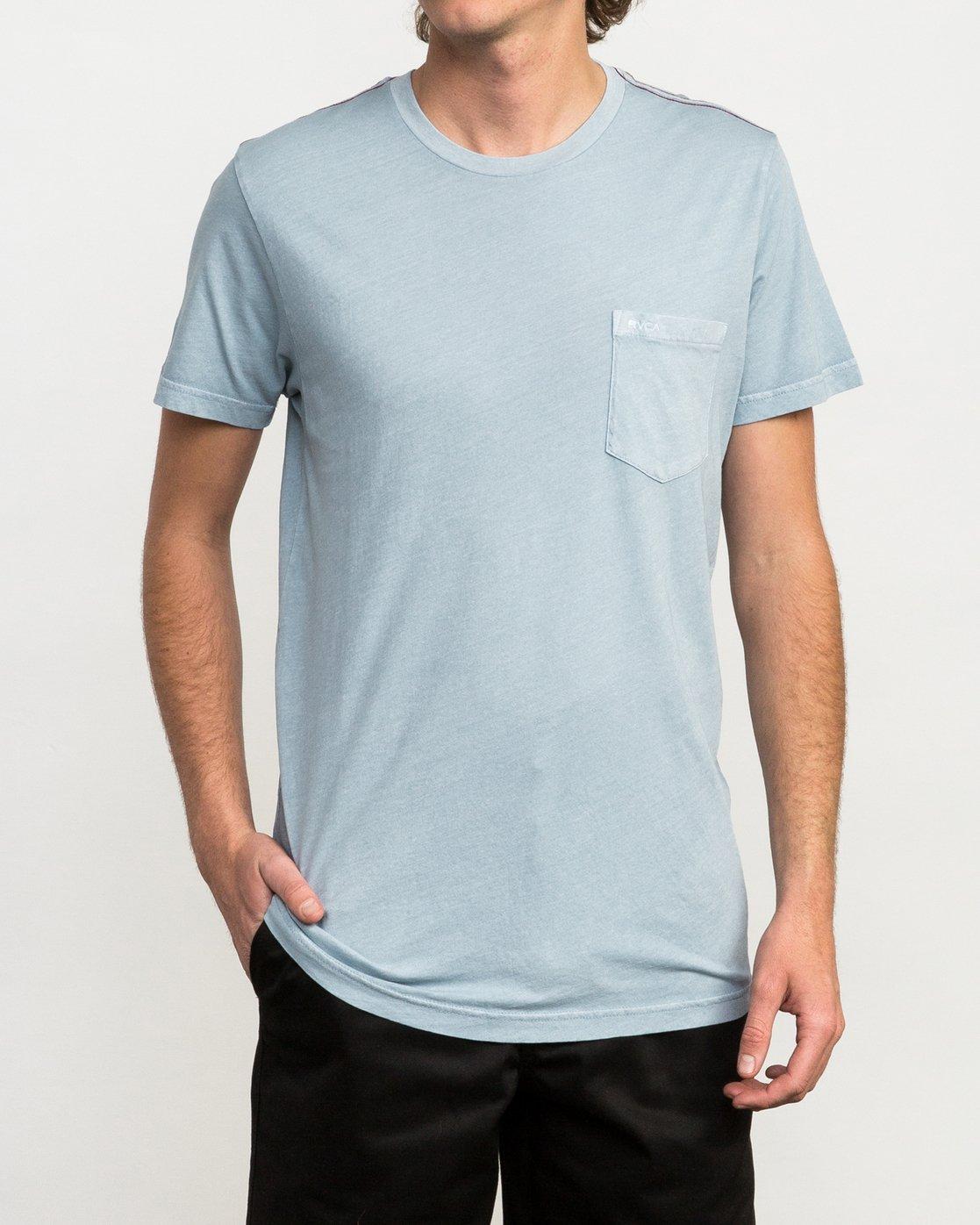 1 Ptc 2 Pigment T-Shirt Blue M3910PTC RVCA