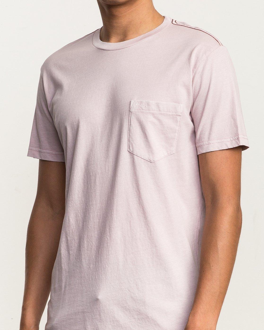 4 Ptc 2 Pigment T-Shirt Pink M3910PTC RVCA