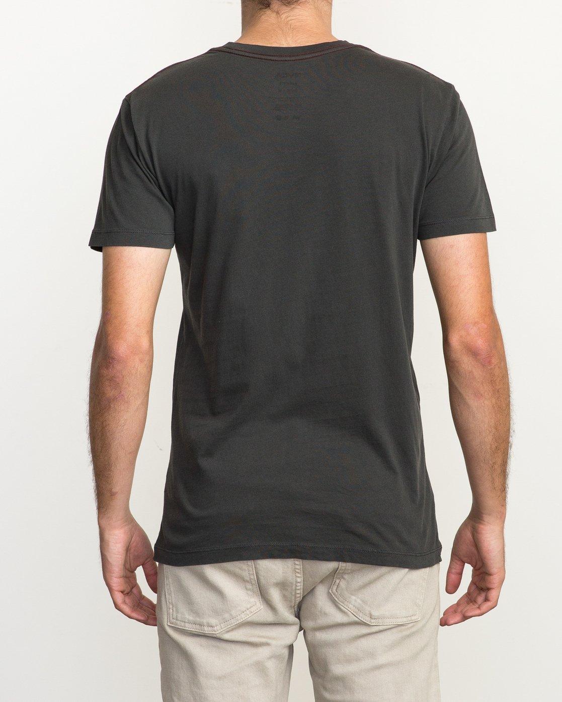 3 Ptc 2 Pigment T-Shirt Black M3910PTC RVCA