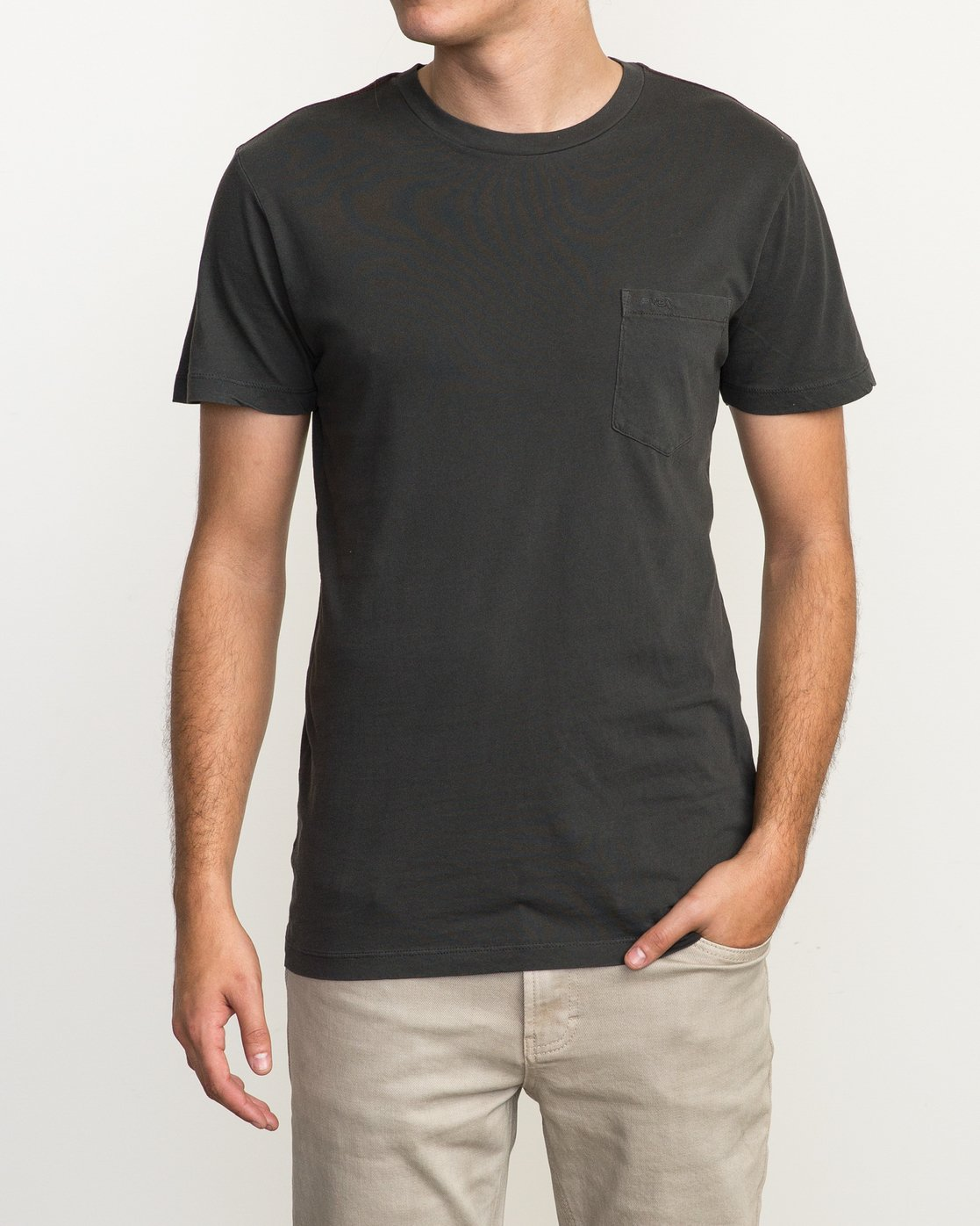 1 Ptc 2 Pigment T-Shirt Black M3910PTC RVCA