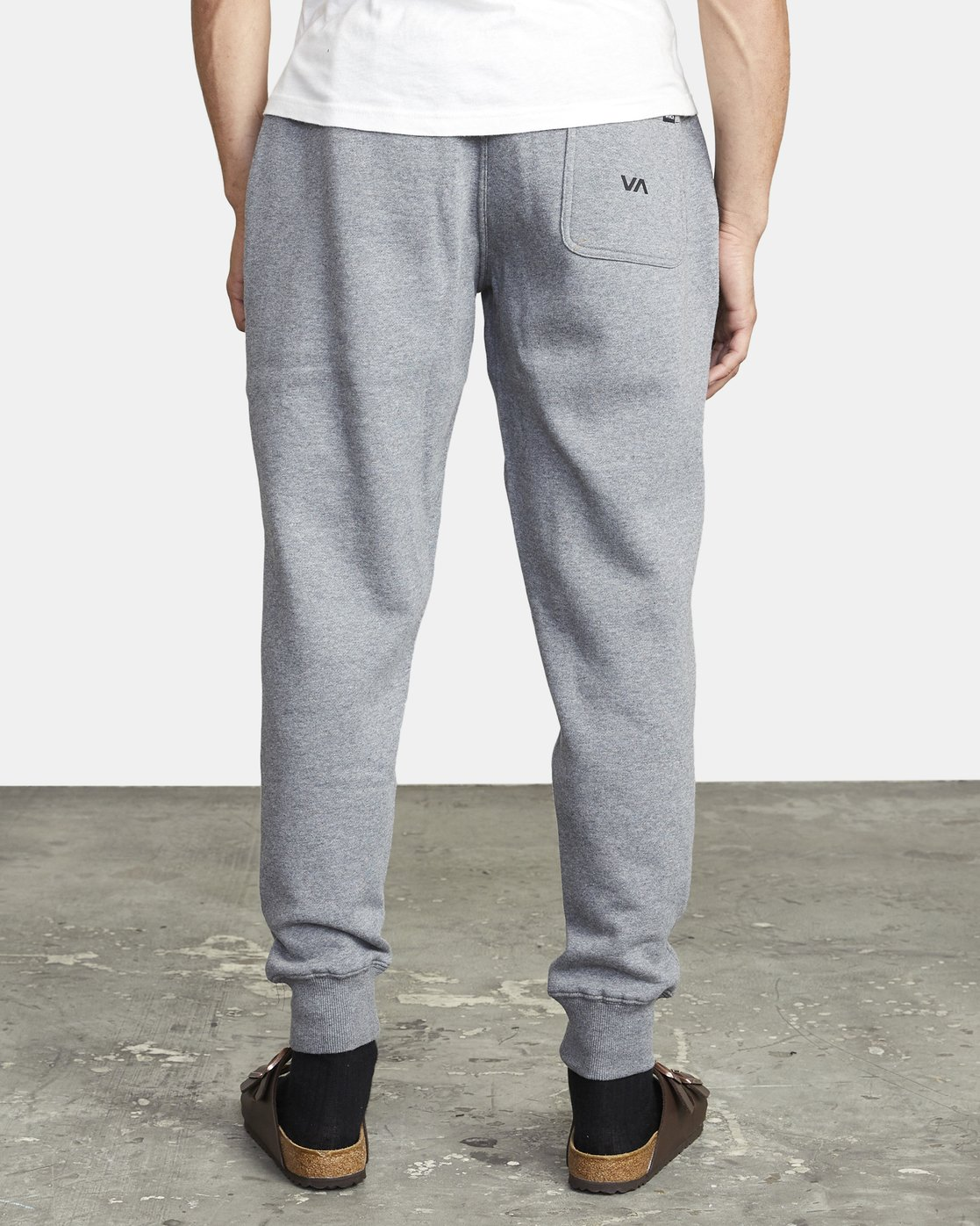 3 BIG RVCA SWEATPANT Grey M3983RBR RVCA