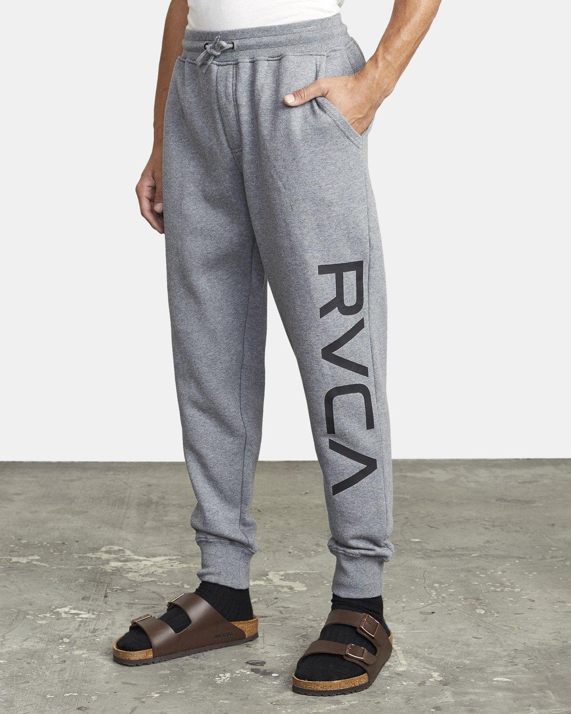 3 BIG RVCA PANT Grey M3983RBR RVCA