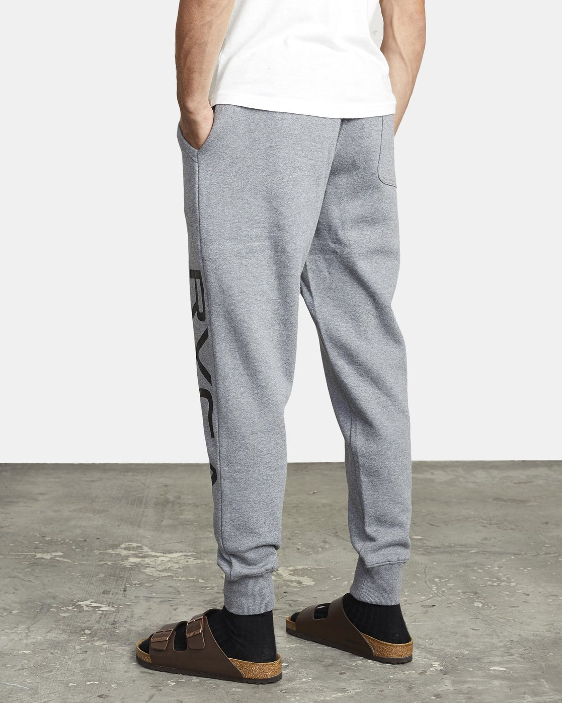 5 BIG RVCA SWEATPANT Grey M3983RBR RVCA