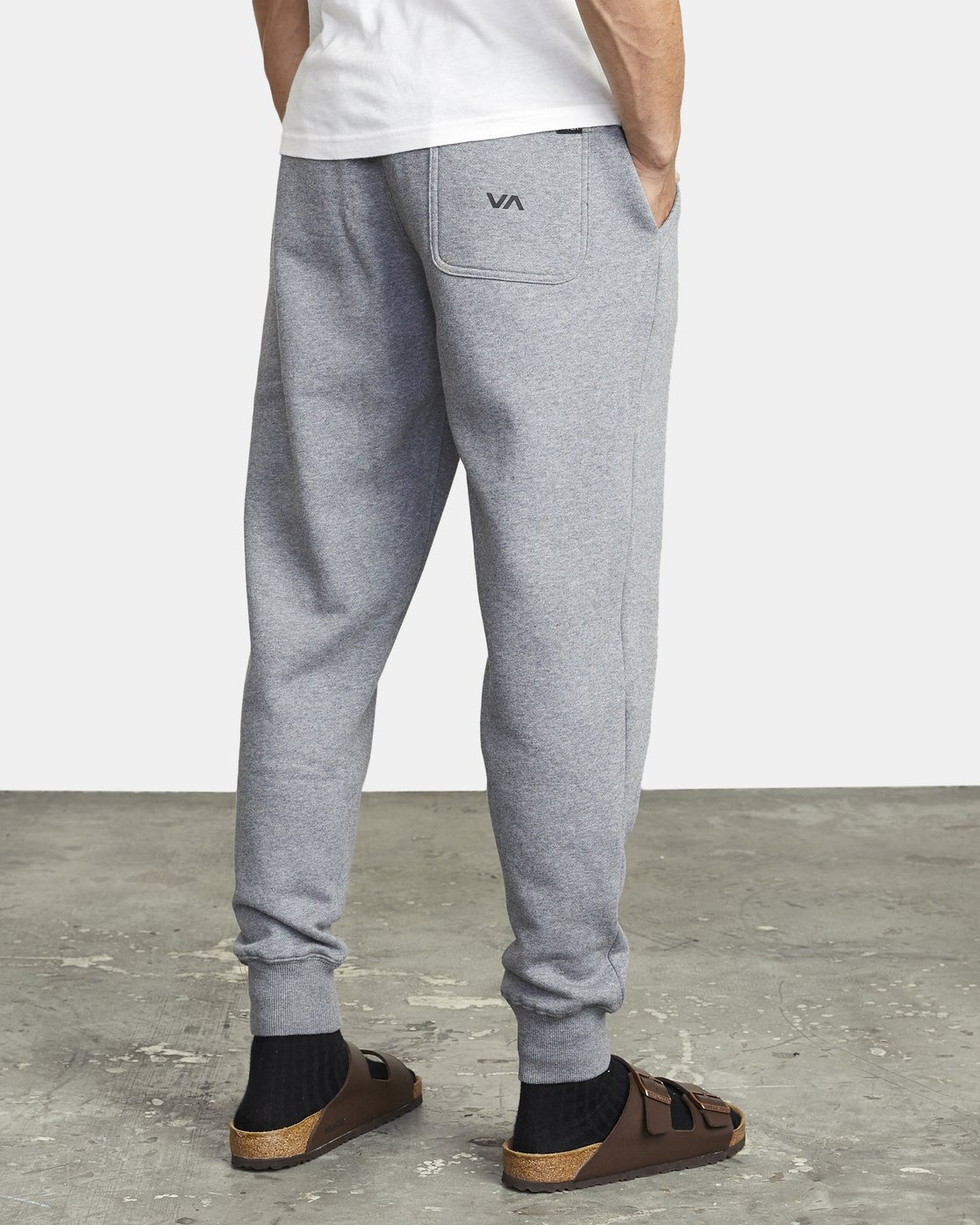 6 BIG RVCA SWEATPANT Grey M3983RBR RVCA