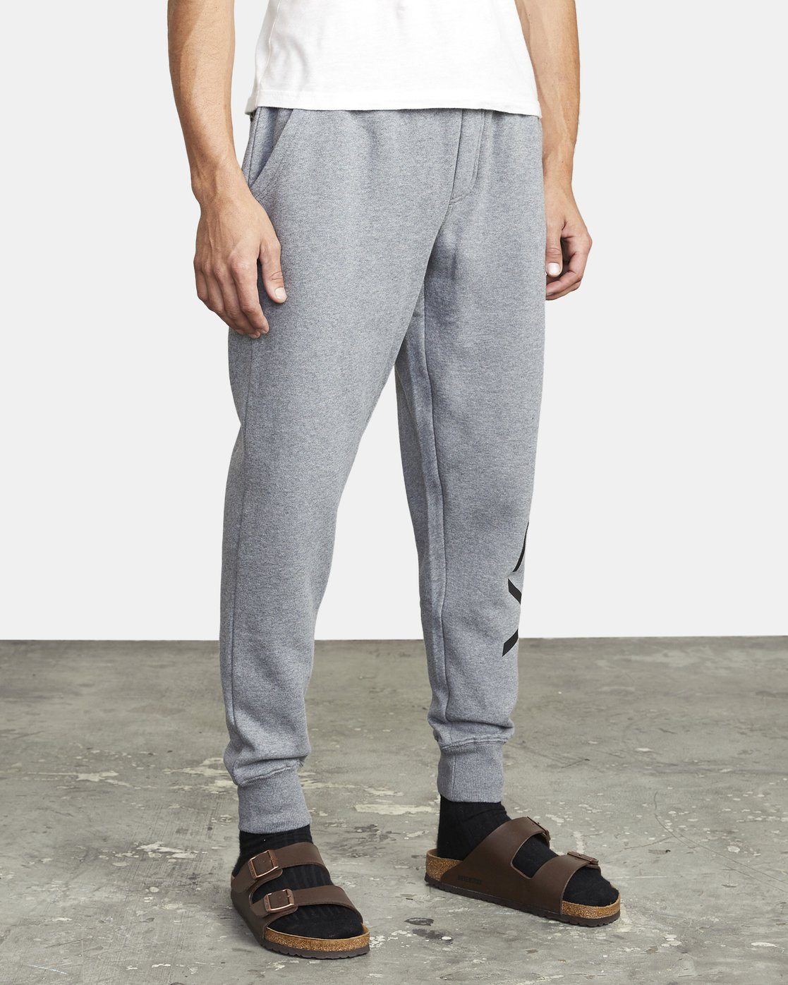 7 BIG RVCA SWEATPANT Grey M3983RBR RVCA