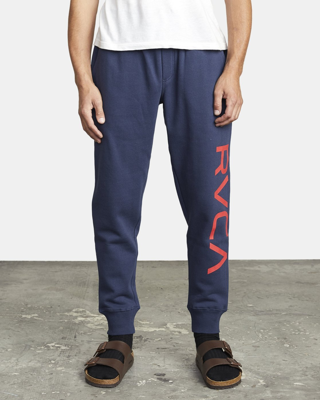 2 BIG RVCA SWEATPANT Blue M3983RBR RVCA
