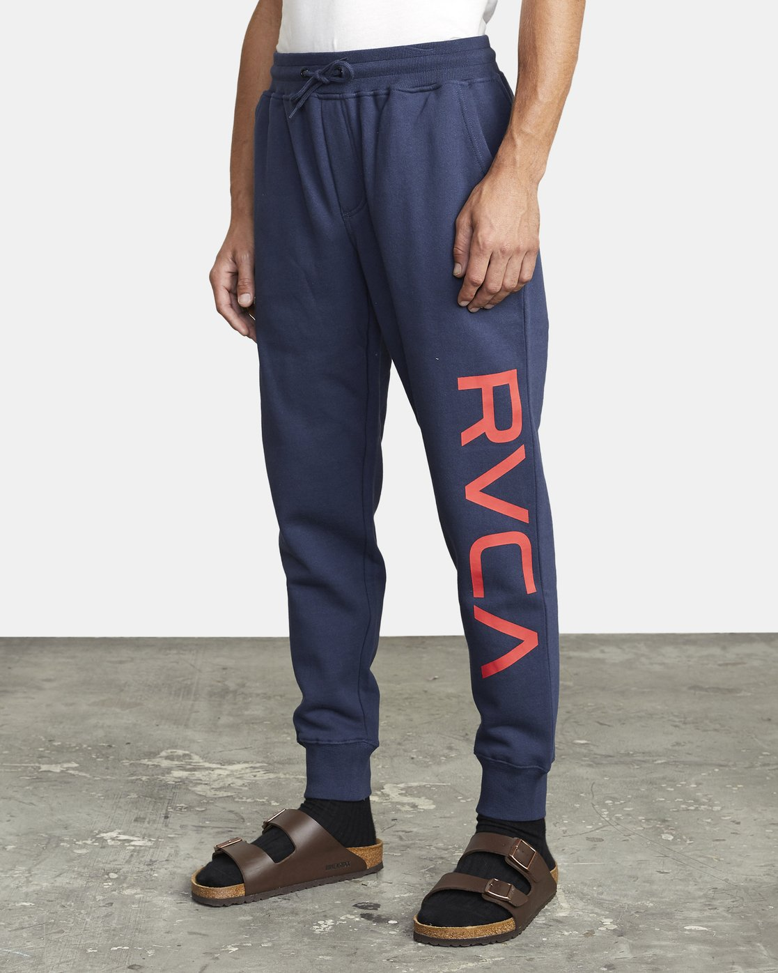 4 BIG RVCA SWEATPANT Blue M3983RBR RVCA