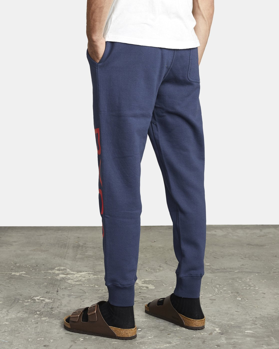 5 BIG RVCA SWEATPANT Blue M3983RBR RVCA