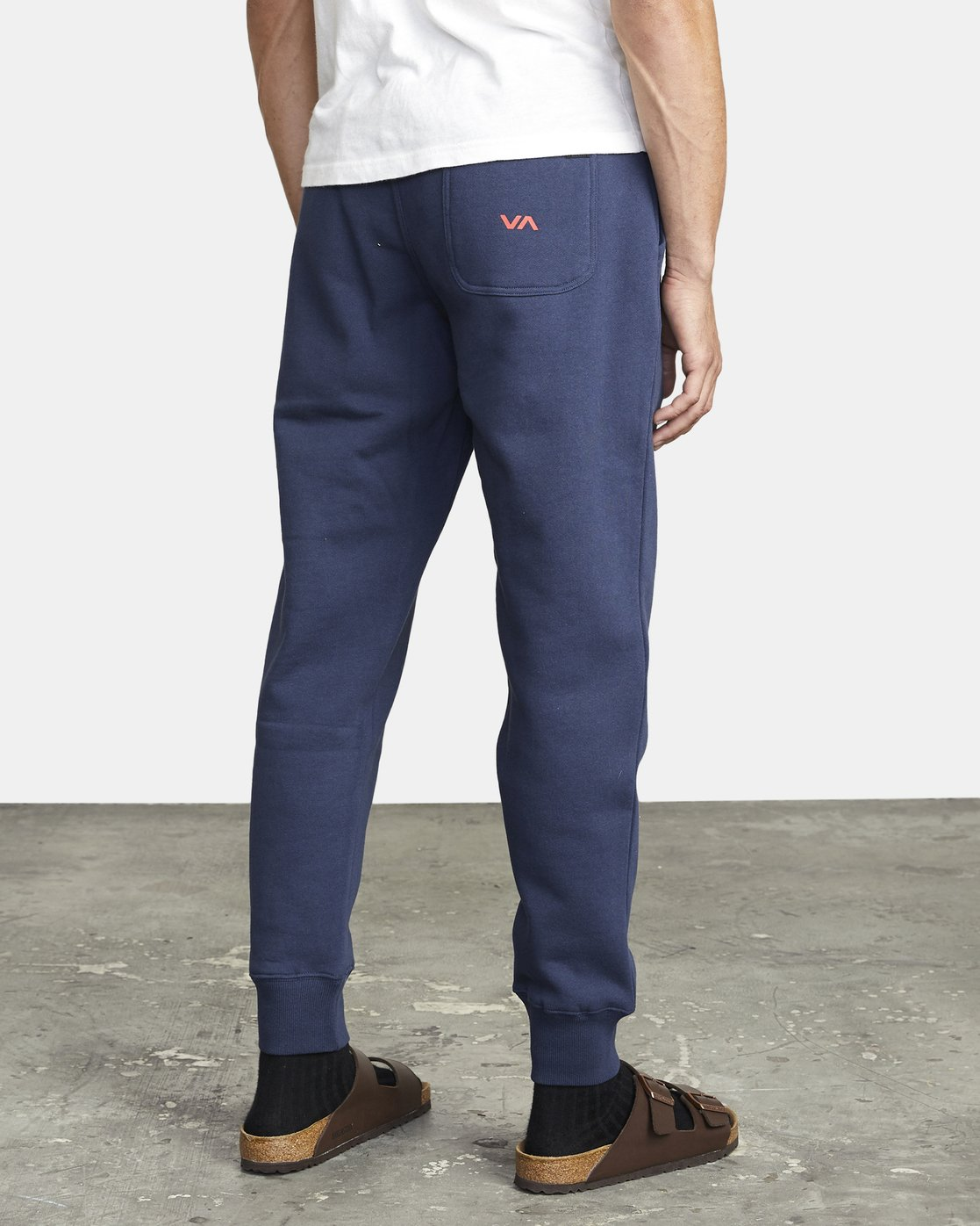 7 BIG RVCA SWEATPANT Blue M3983RBR RVCA