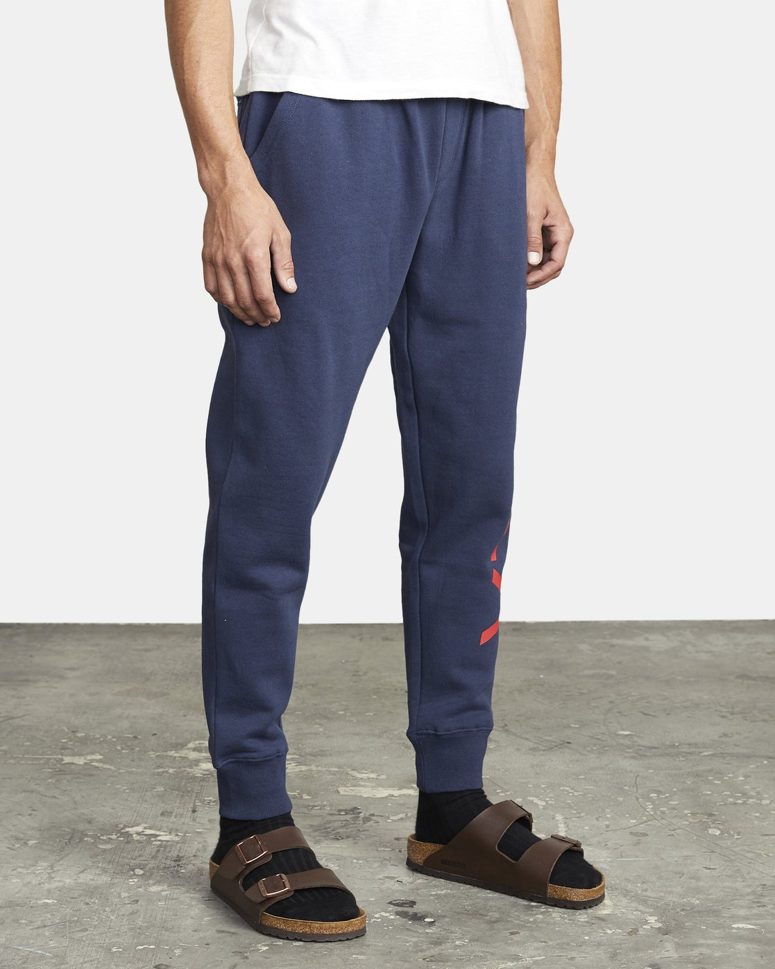 8 BIG RVCA SWEATPANT Blue M3983RBR RVCA