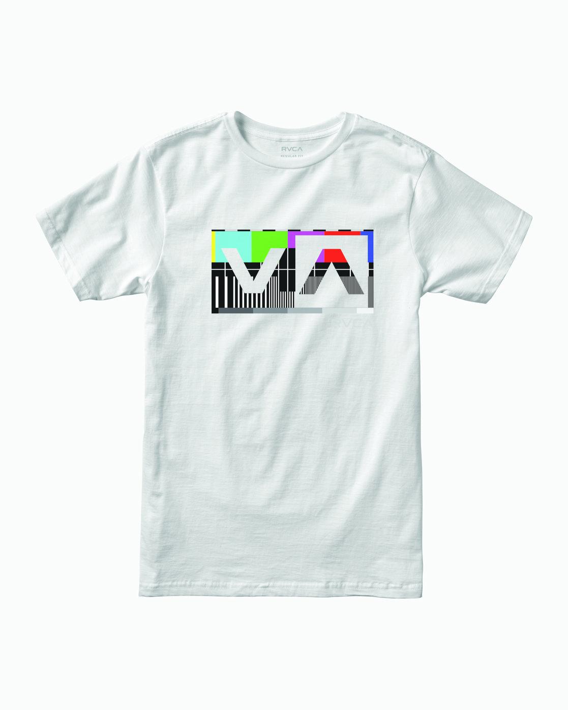 0 BALANCE BOX T-SHIRT White M4011RBA RVCA