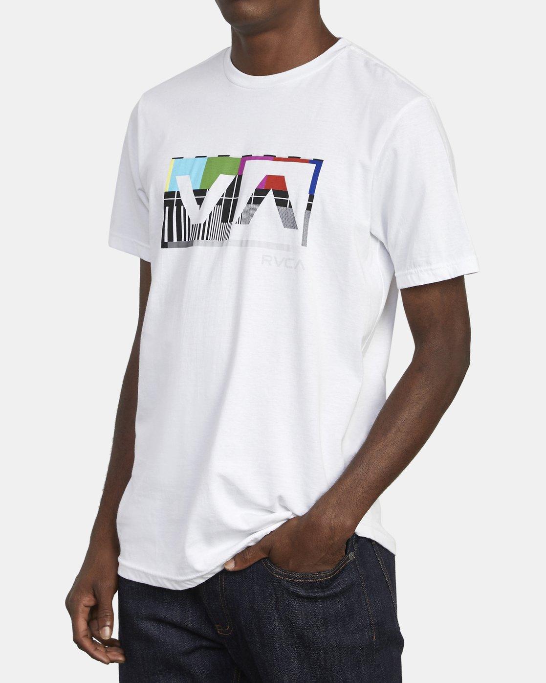 2 BALANCE BOX T-SHIRT White M4011RBA RVCA