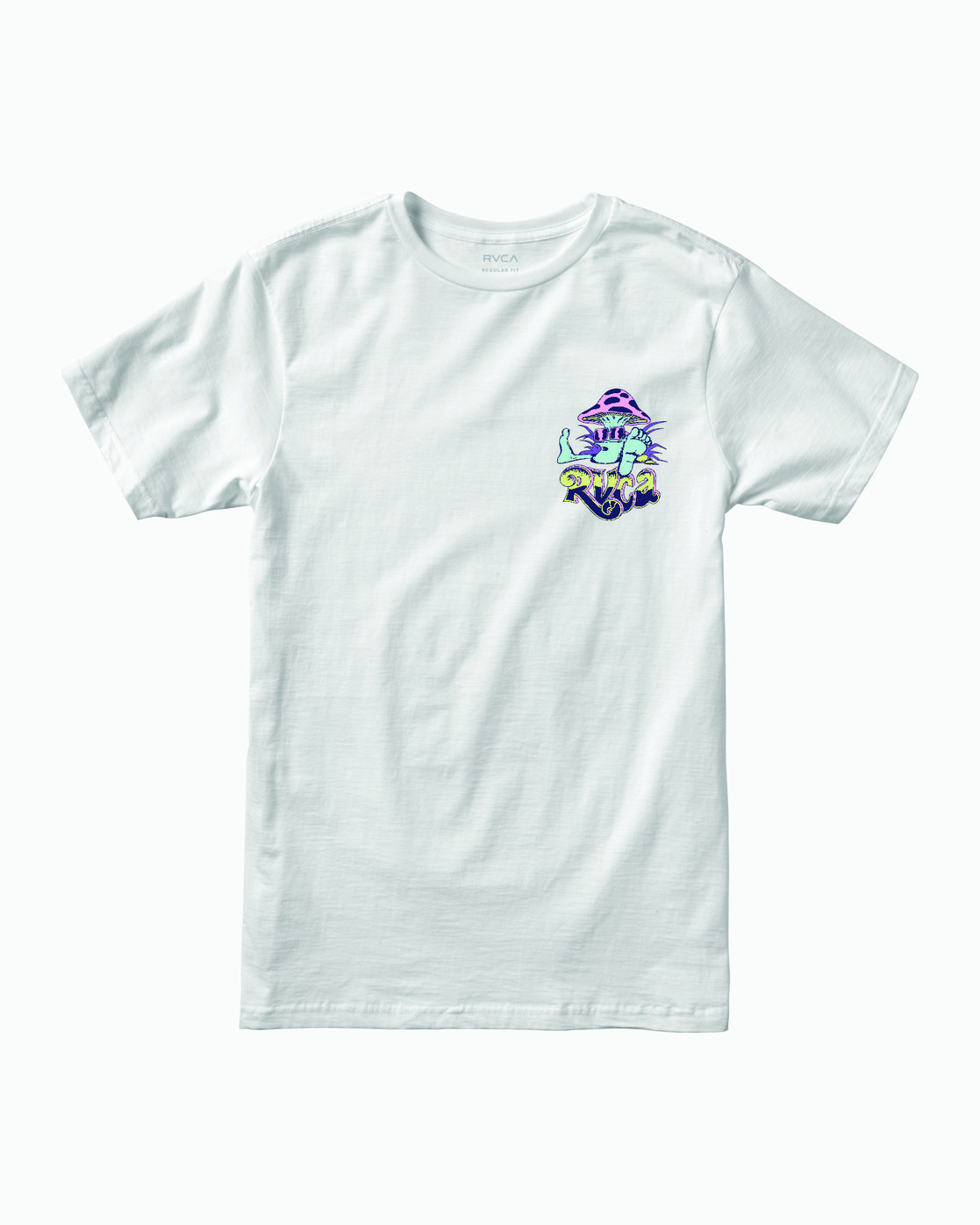 0 MUSHY KID TEE White M4011RMU RVCA