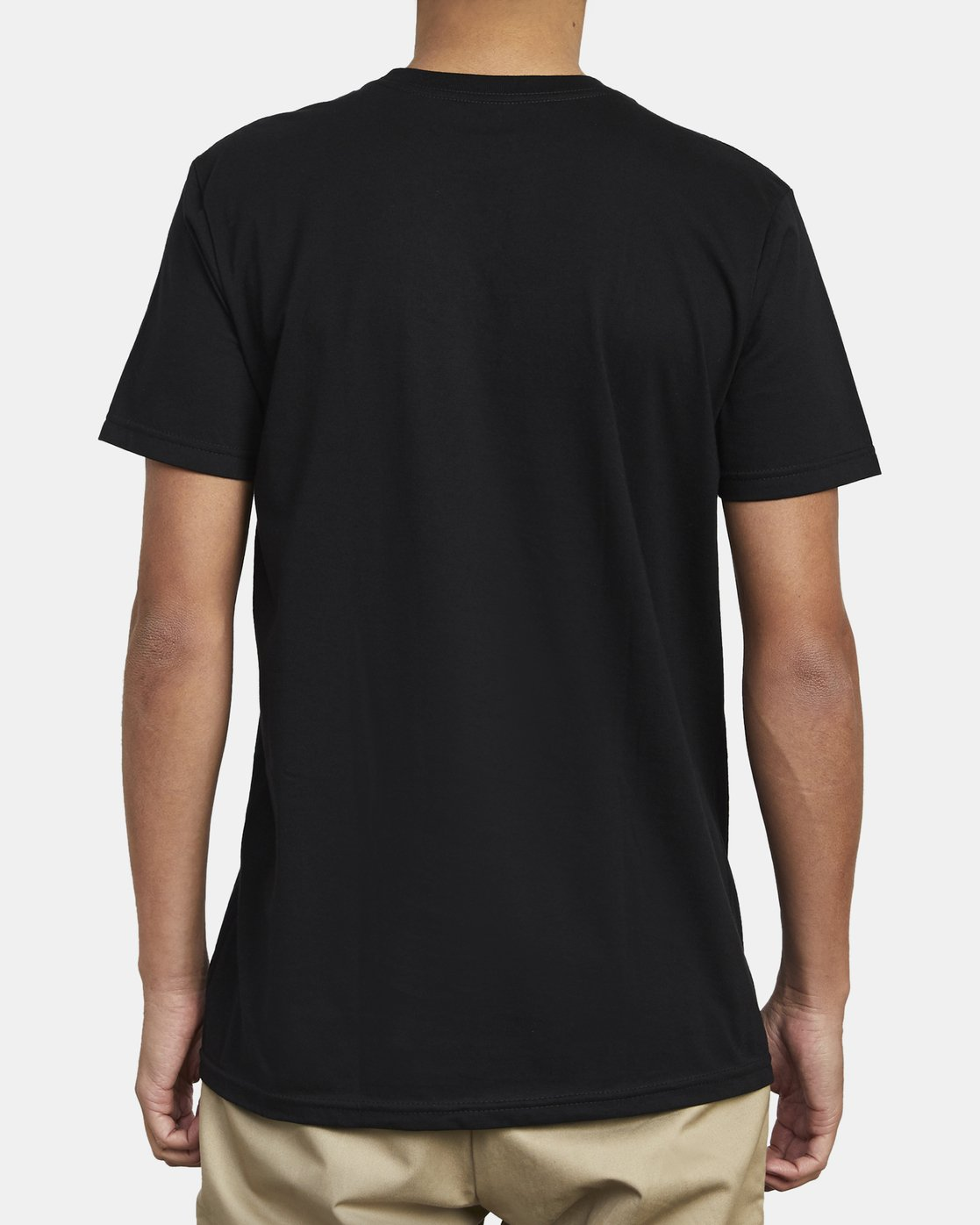 5 SPLIT PIN T-SHIRT Black M4011RSP RVCA