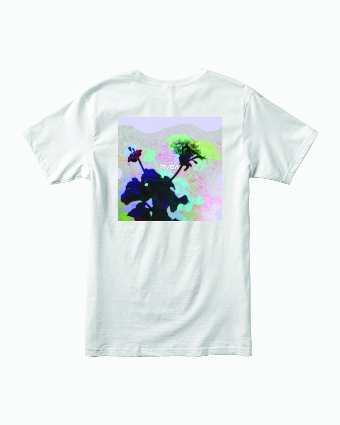 1 TEST SCAN T-SHIRT White M4011RTE RVCA