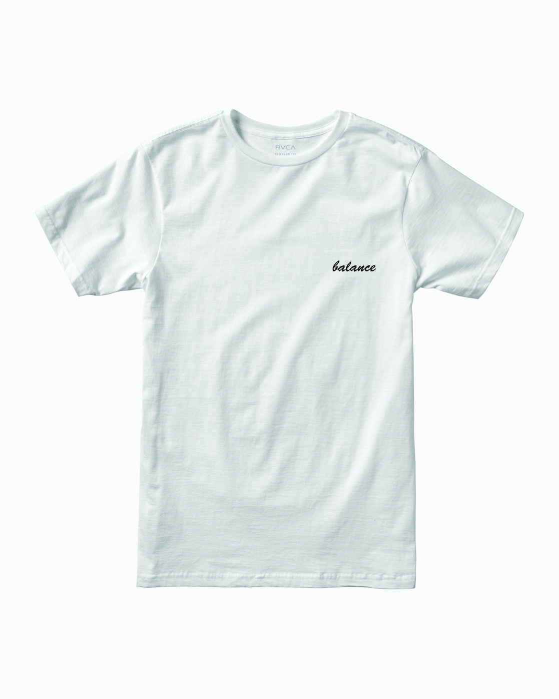 0 TEST SCAN T-SHIRT White M4011RTE RVCA