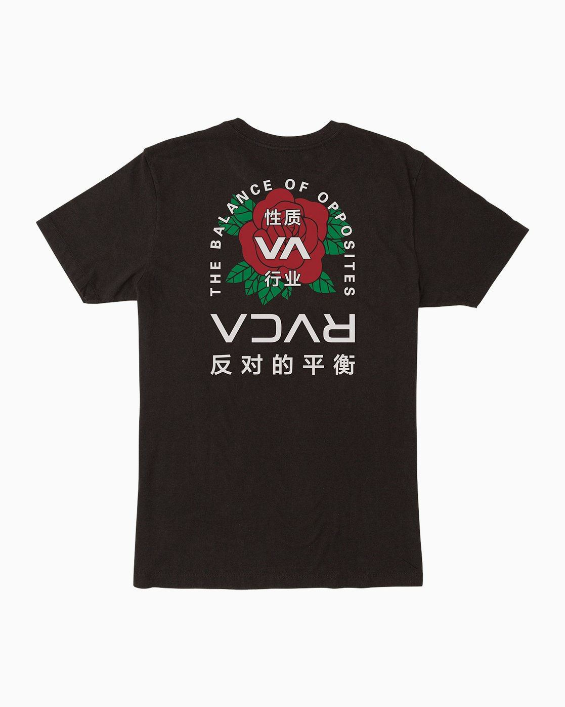 0 Roze T-Shirt Black M401PRRT RVCA