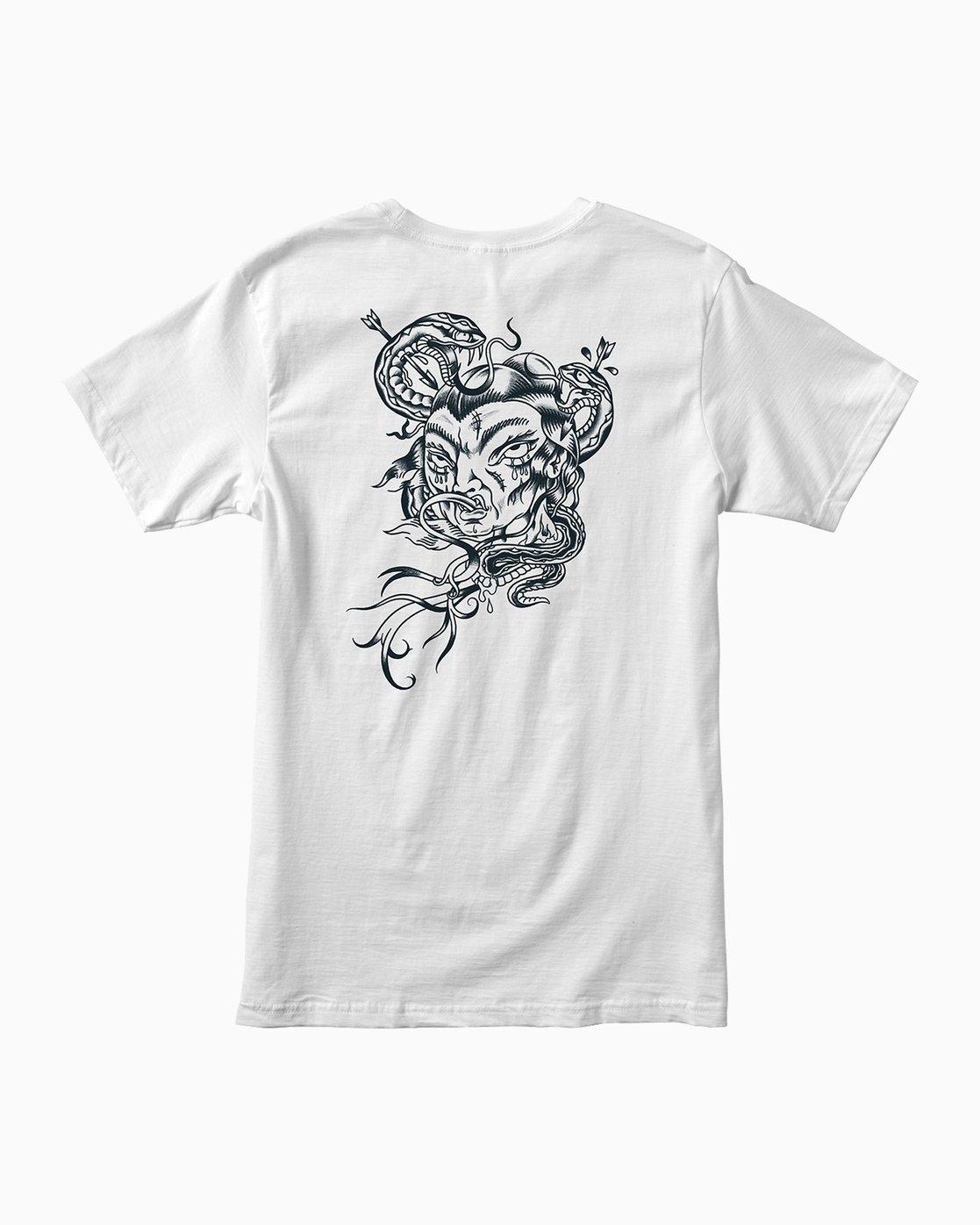 0 Dmote Serpentine T-Shirt  M401PRST RVCA