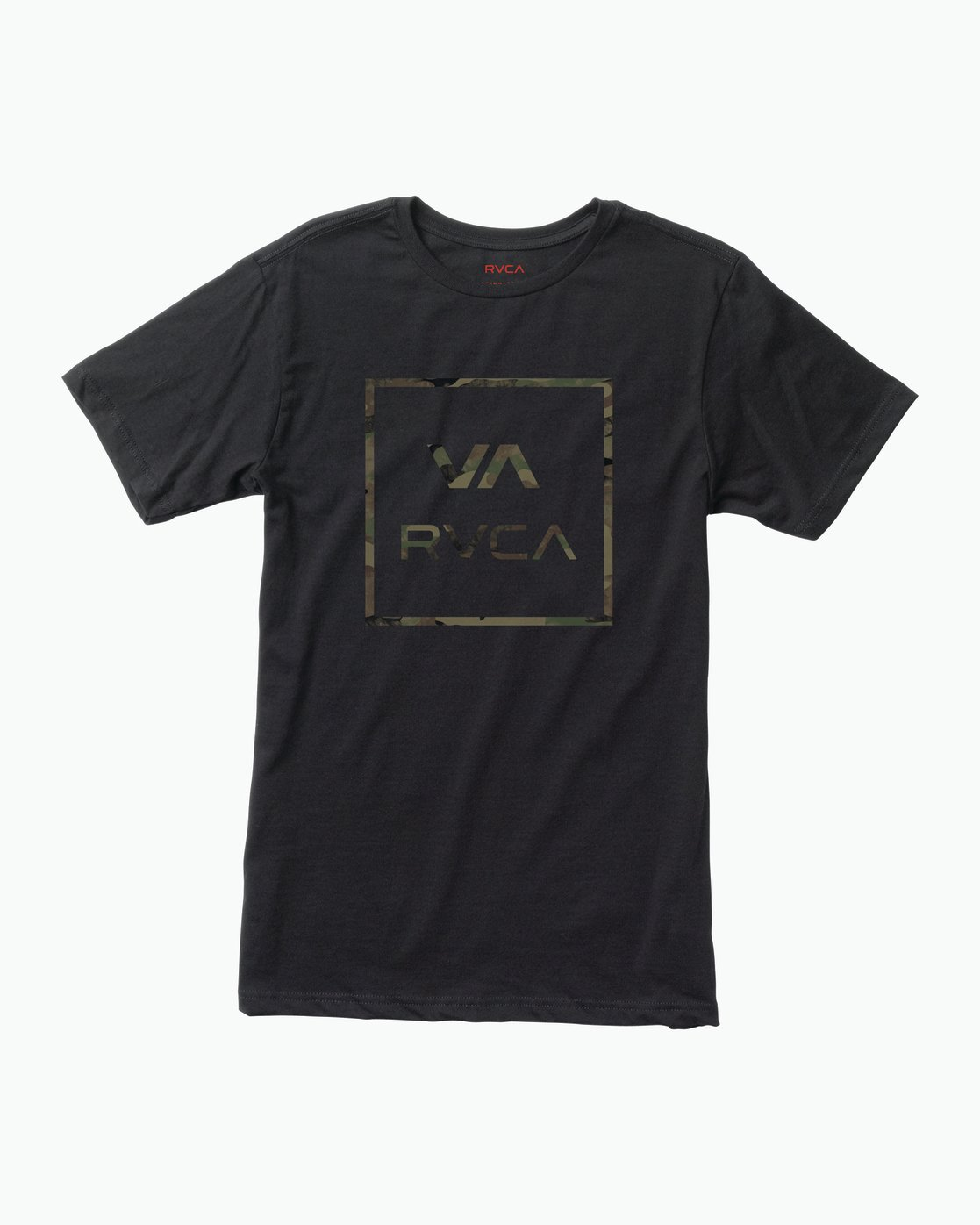 0 Fill All The Way T-Shirt Black M401SRFI RVCA
