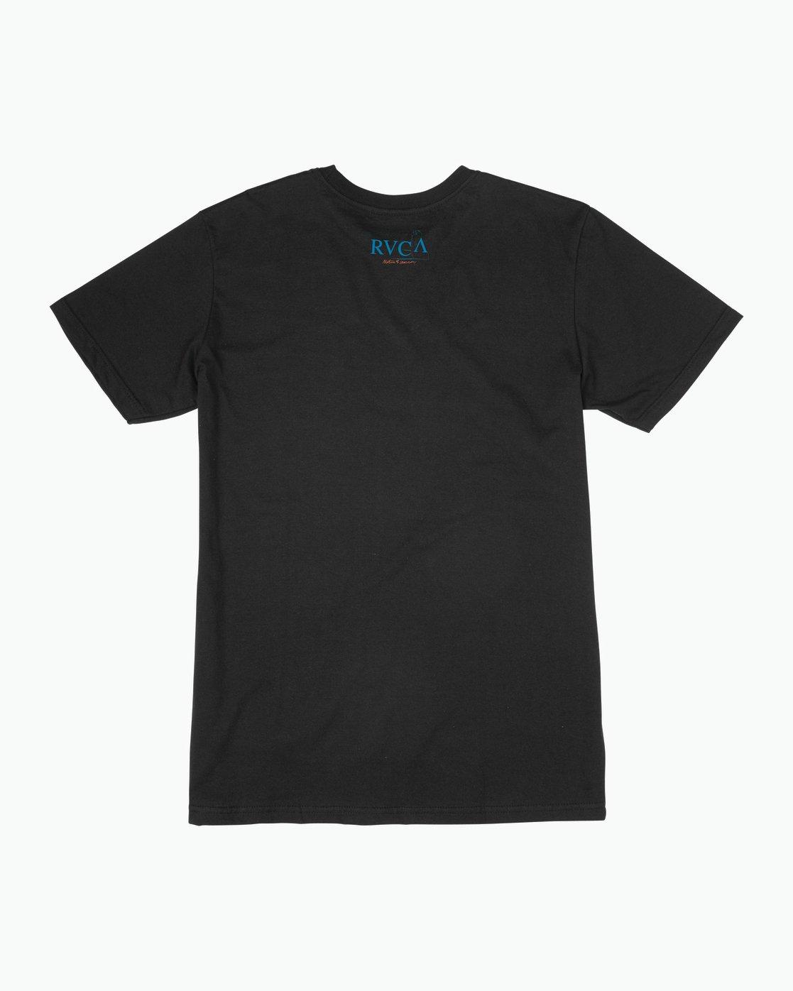 1 Mesopotamia T-Shirt Black M401SRME RVCA