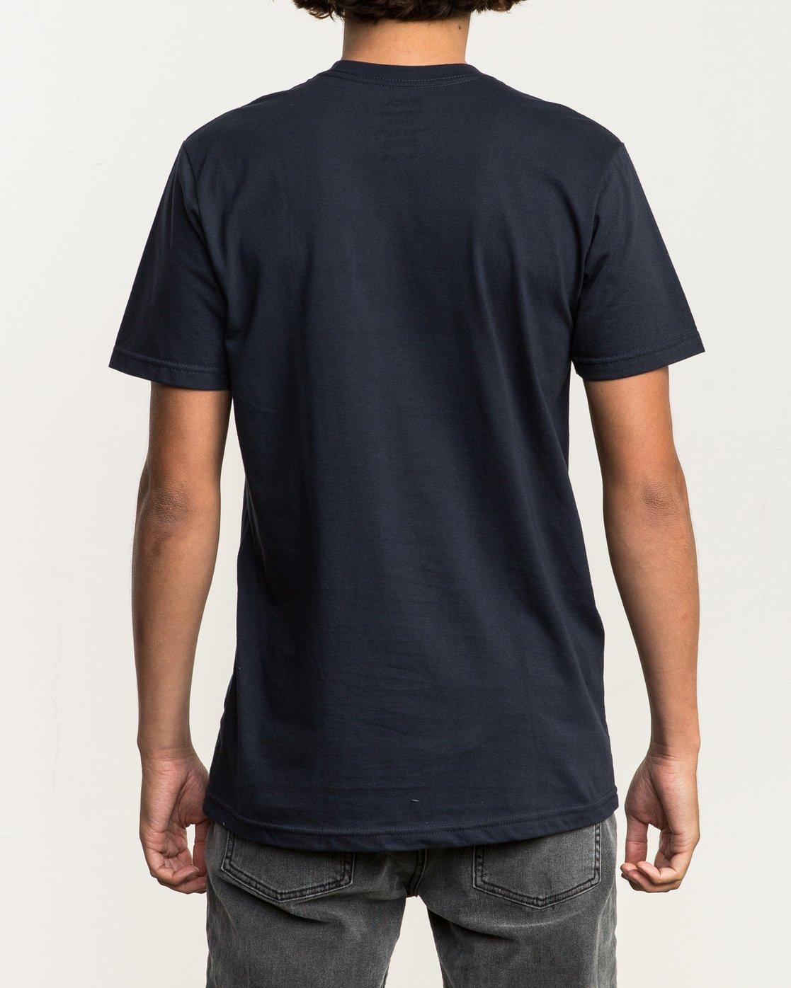 3 Riso Box T-Shirt Blue M401SRRI RVCA