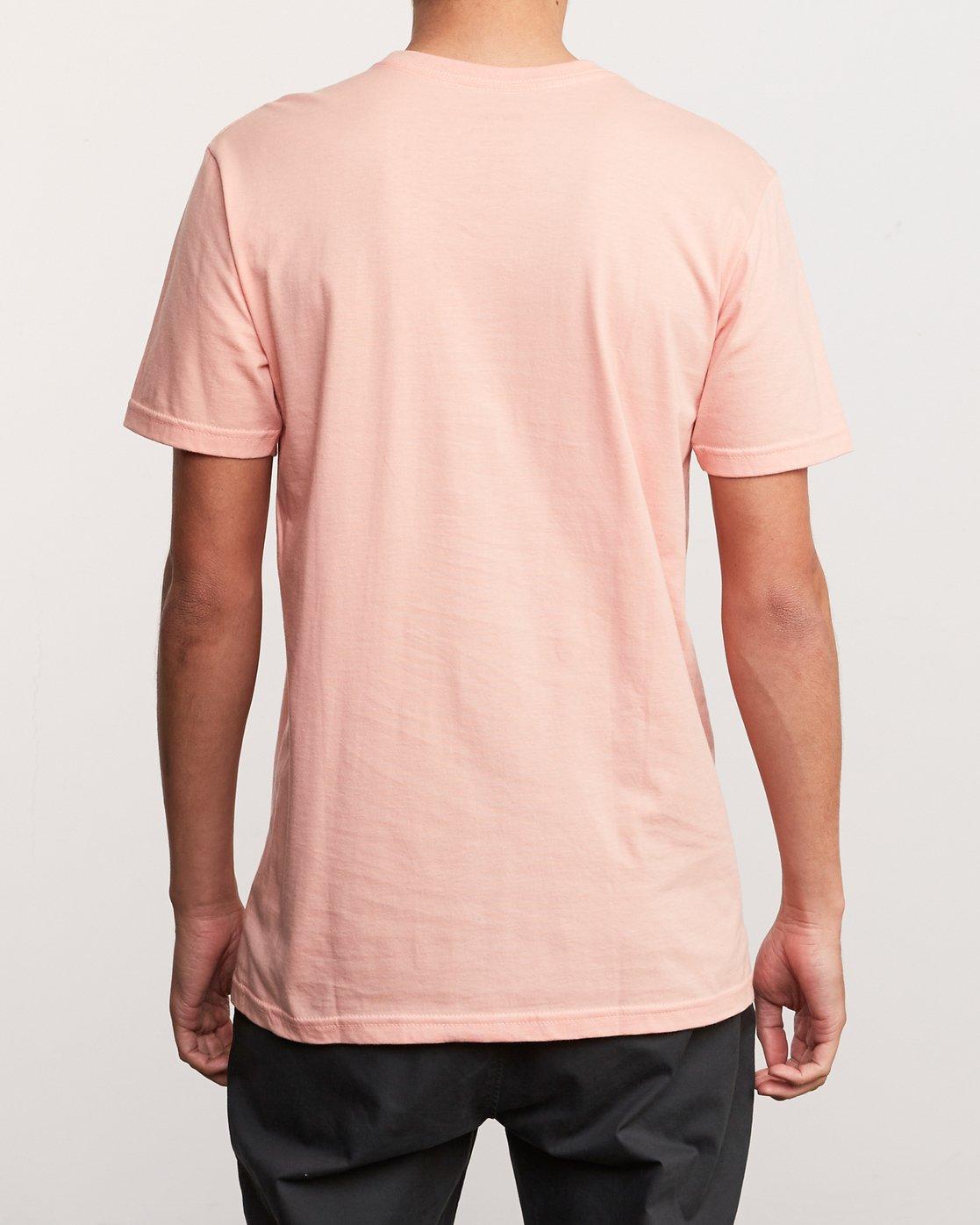3 Blinded T-Shirt Orange M401TRBL RVCA