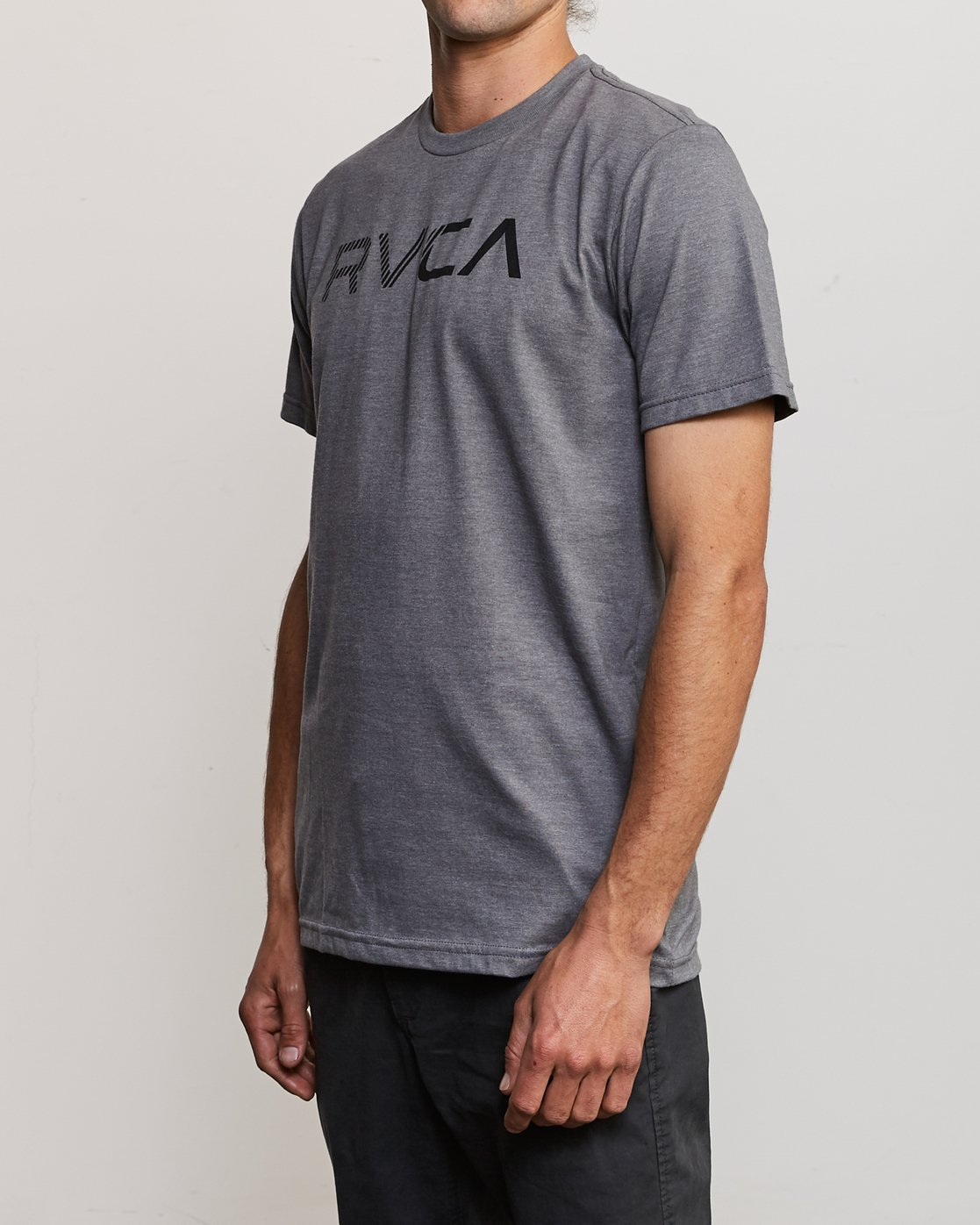 2 Blinded T-Shirt Grey M401TRBL RVCA