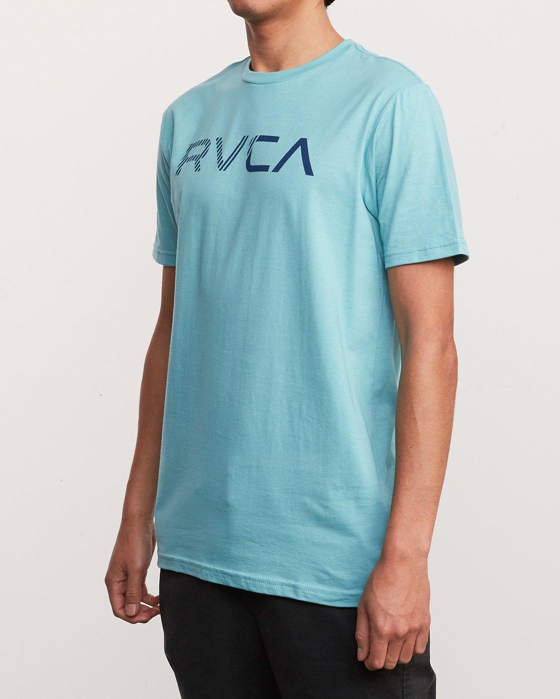 2 Blinded T-Shirt Blue M401TRBL RVCA