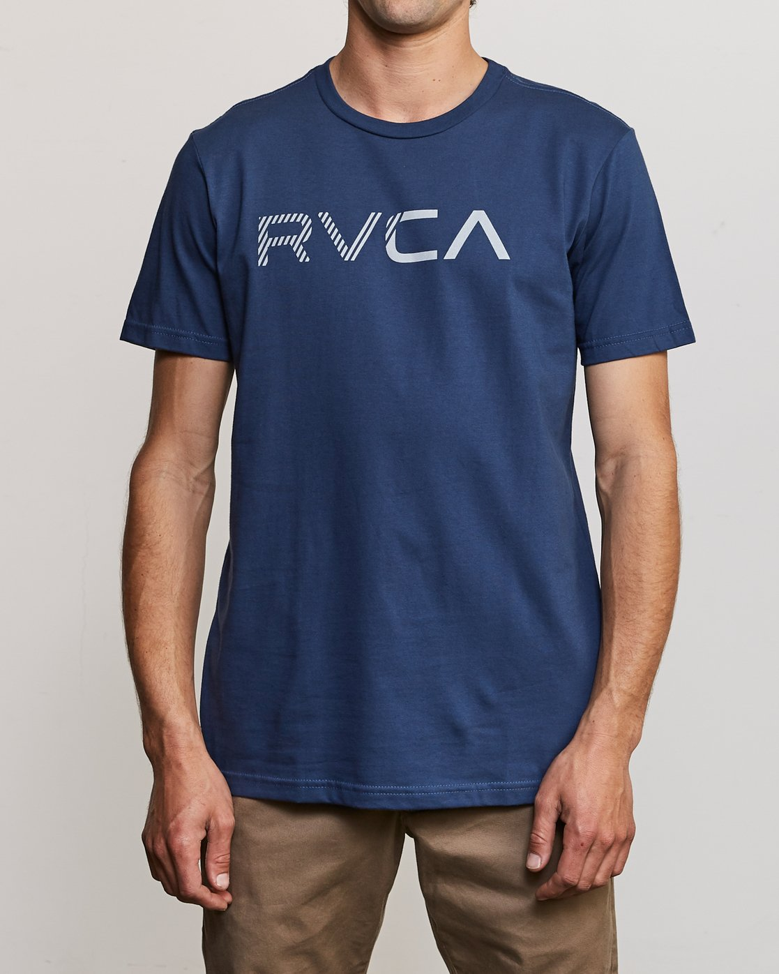 1 Blinded T-Shirt Blue M401TRBL RVCA