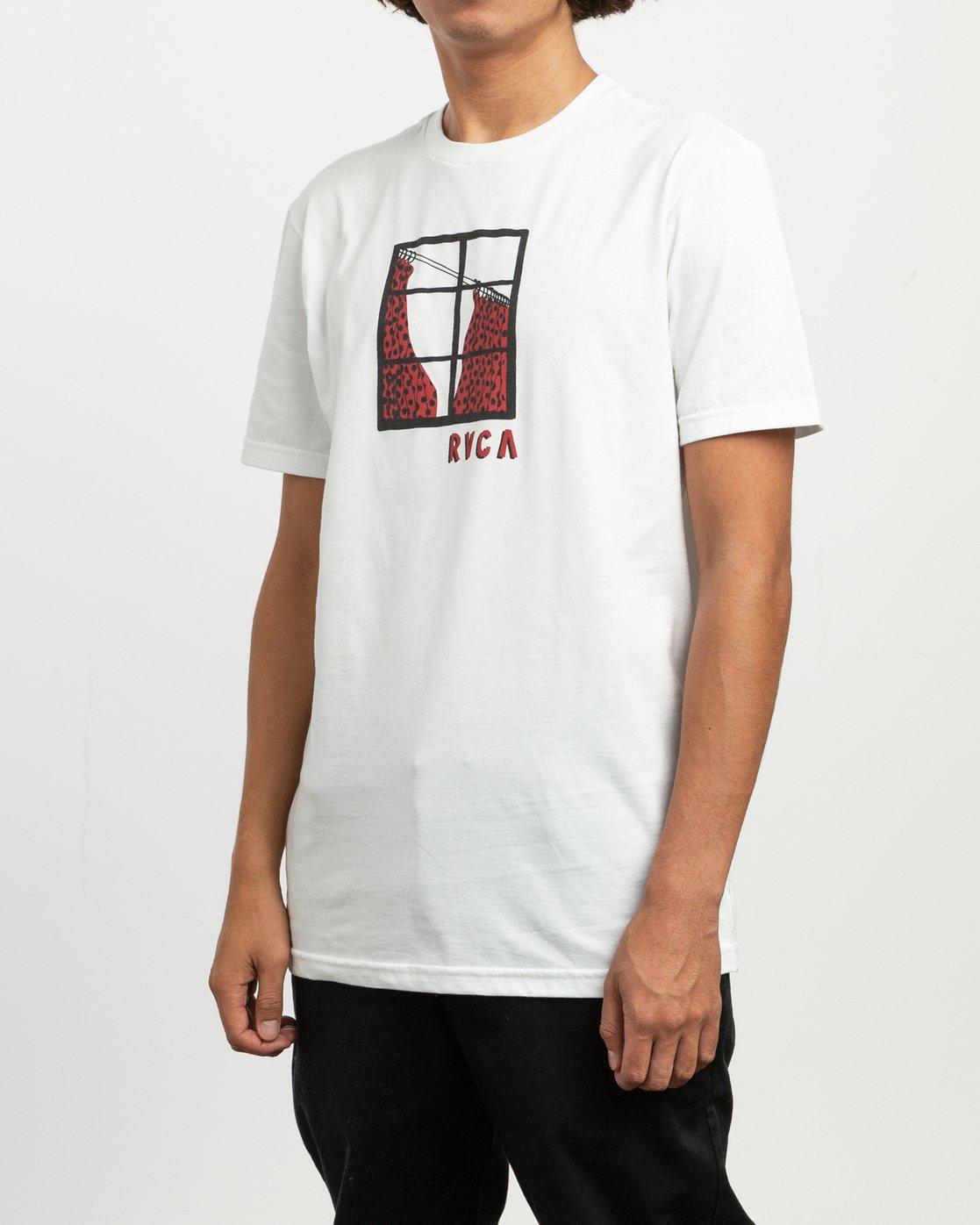 3 Tom Gerrard Drapery T-Shirt White M401TRDR RVCA
