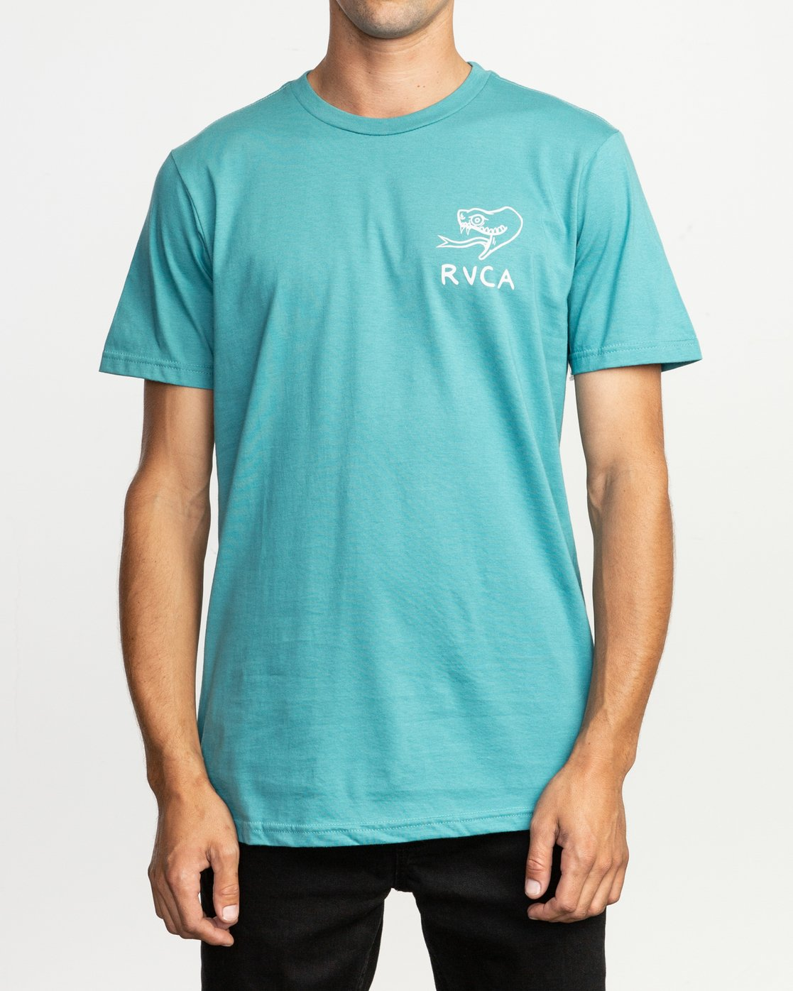 2 Pommier Eternal Struggle T-Shirt Blue M401TRET RVCA