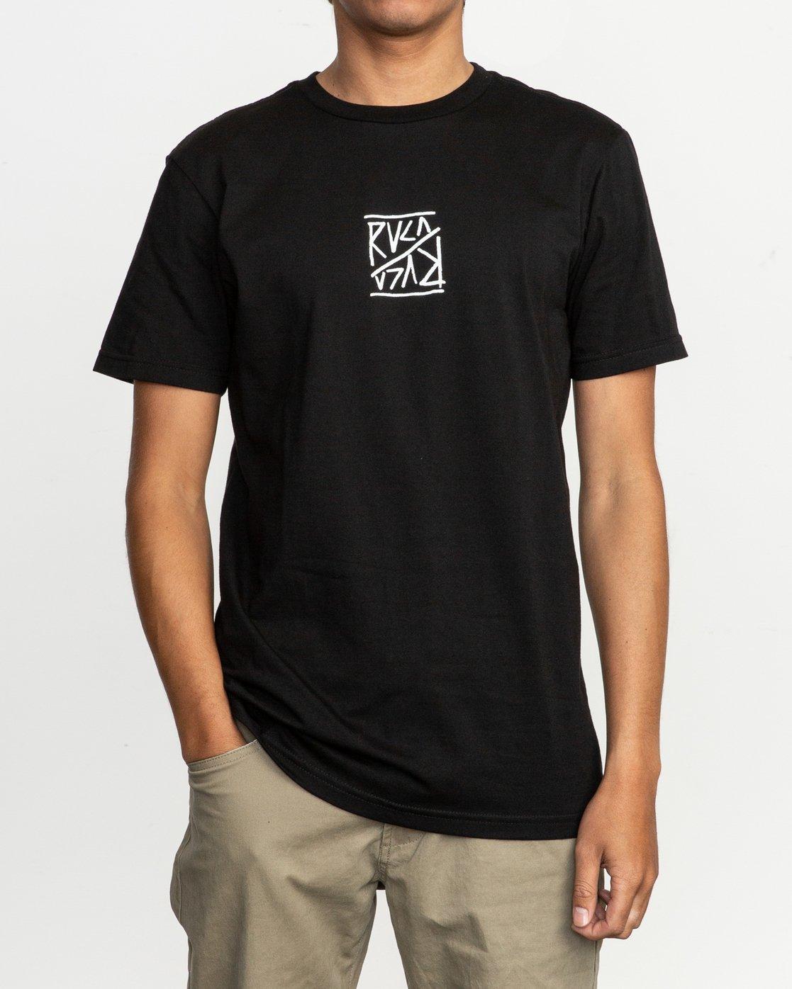 2 Flipper T-Shirt  M401TRFL RVCA