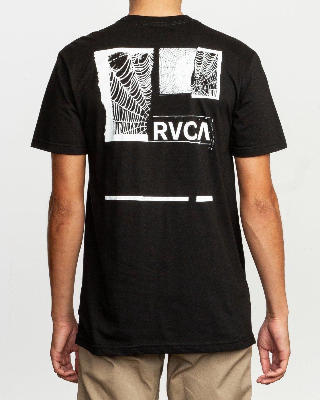 4 Glew T-Shirt Black M401TRGL RVCA