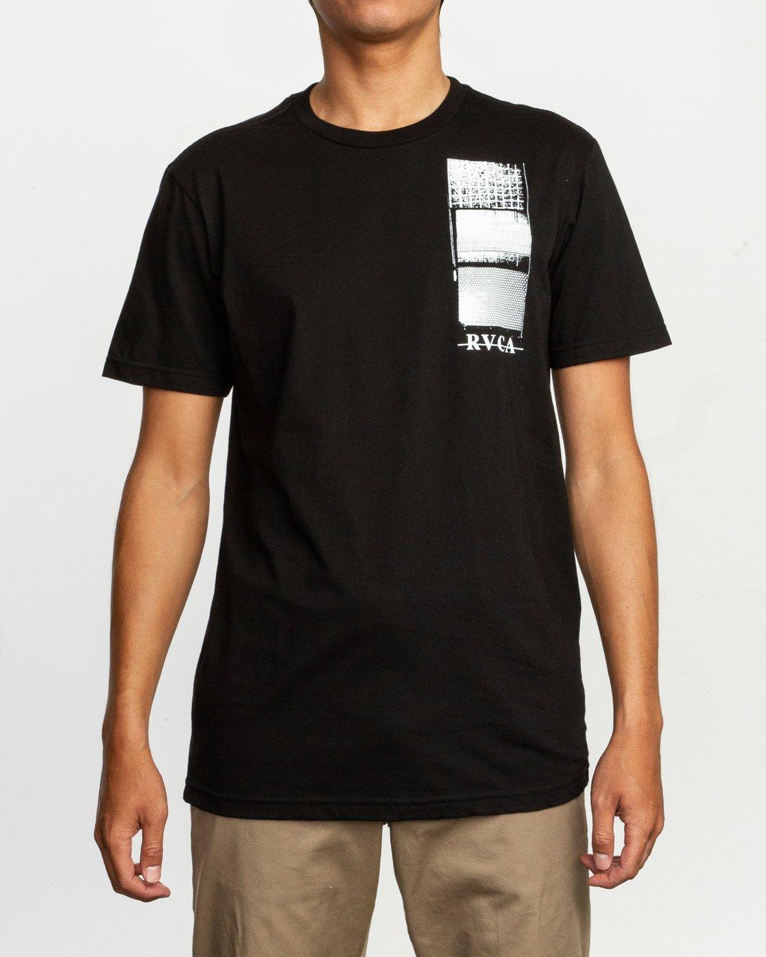 2 Glew T-Shirt Black M401TRGL RVCA